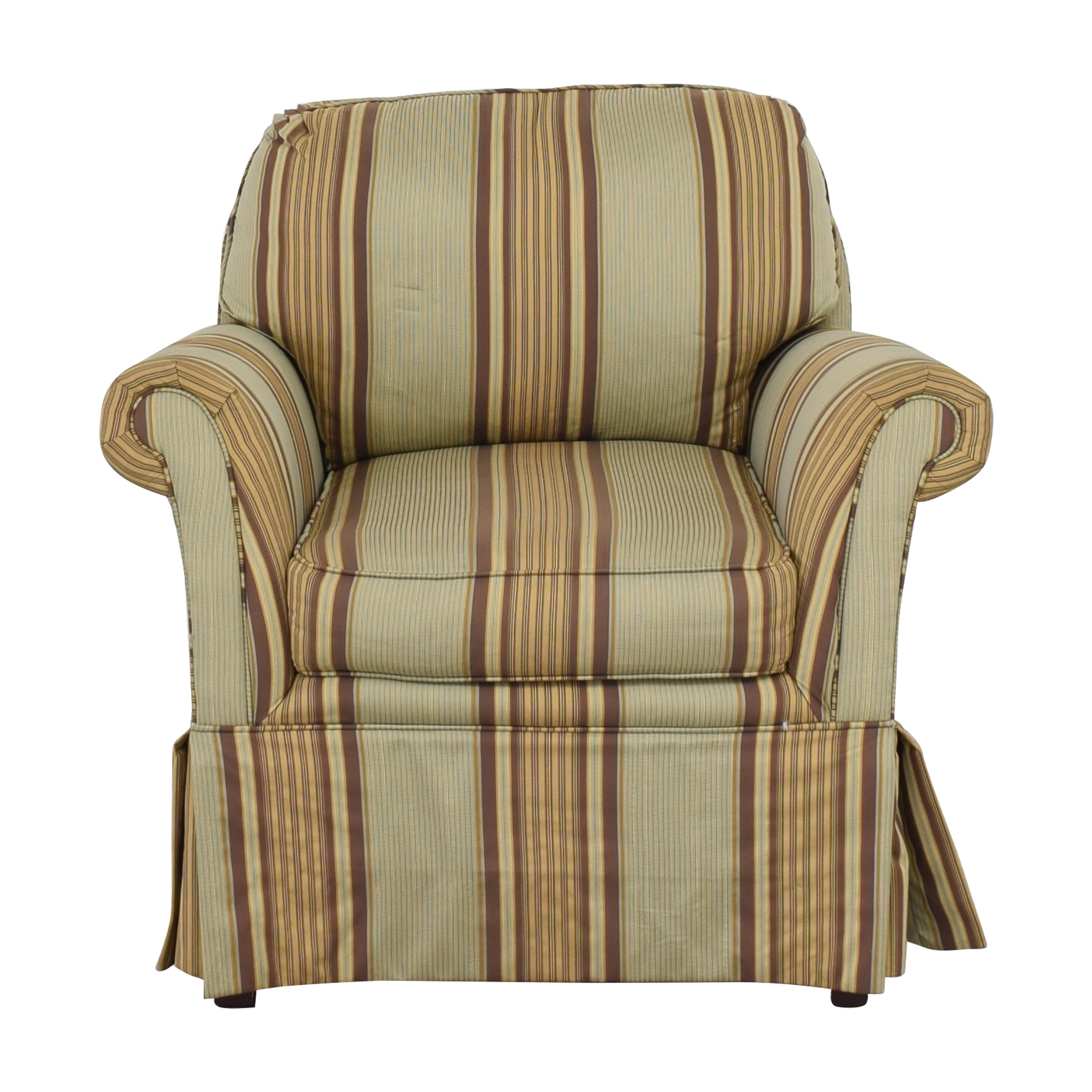 Harden Harden Roll Arm Lounge Chair Multi-colored