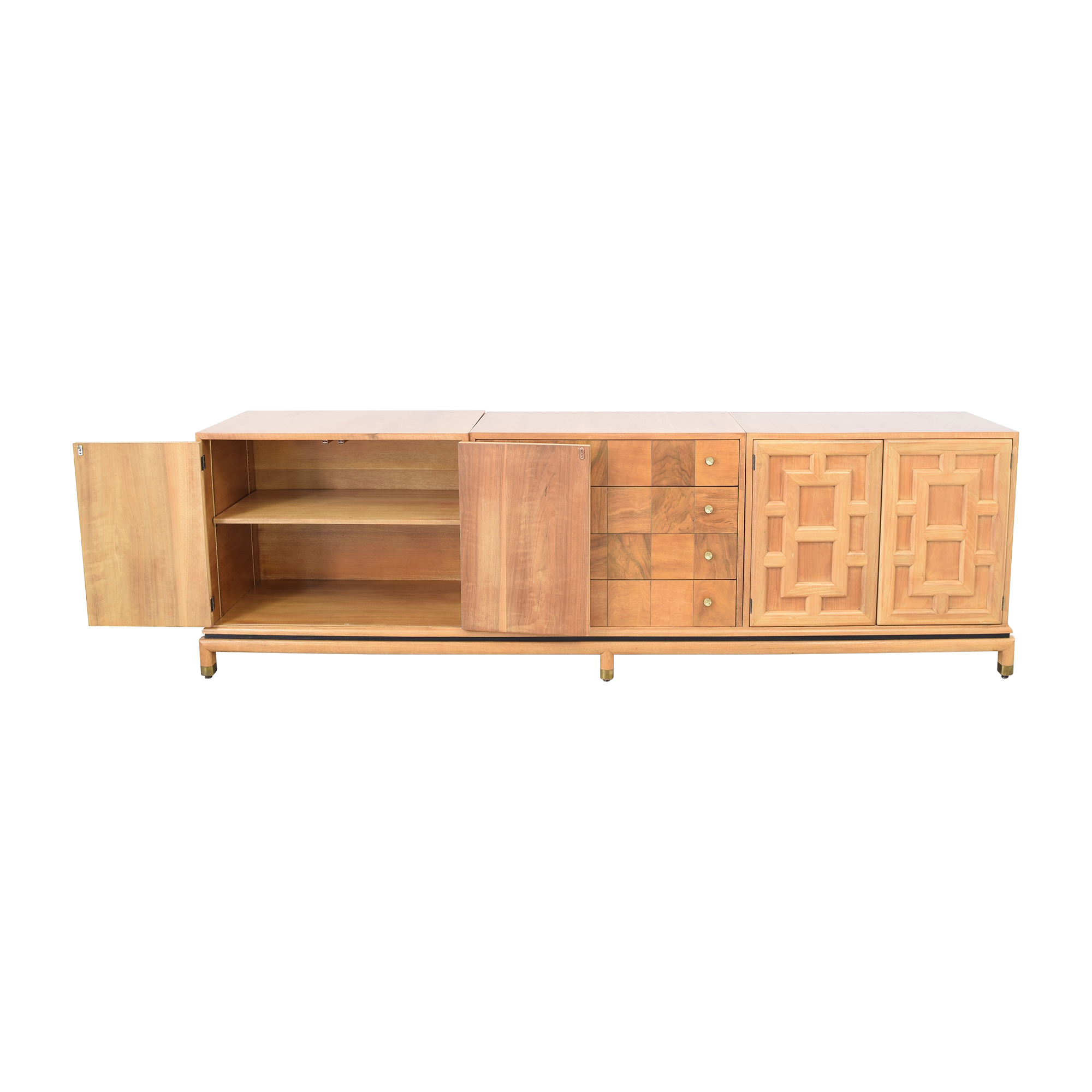 shop Johnson Furniture Geometric Sideboard Johnson Furniture