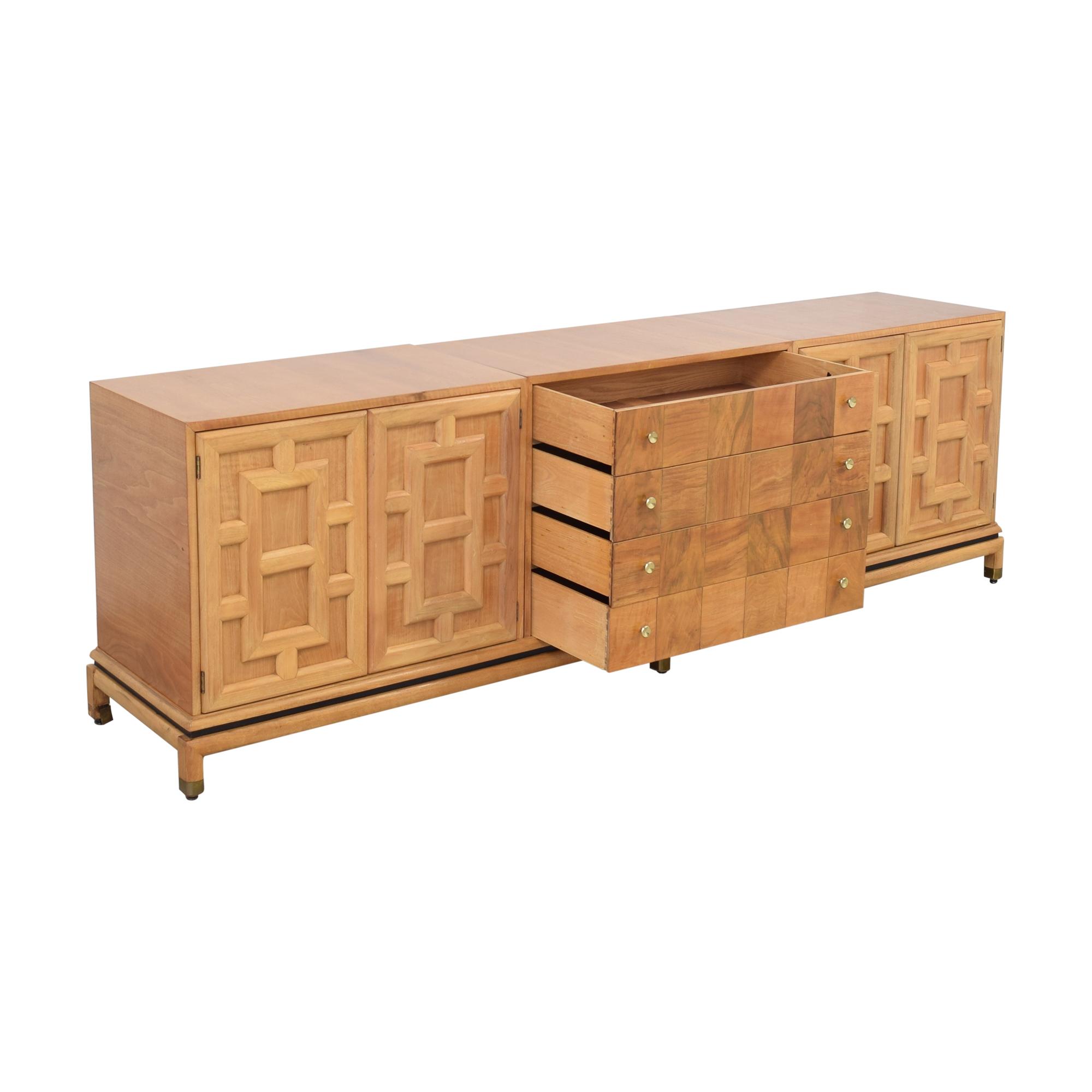 Johnson Furniture Johnson Furniture Geometric Sideboard ct