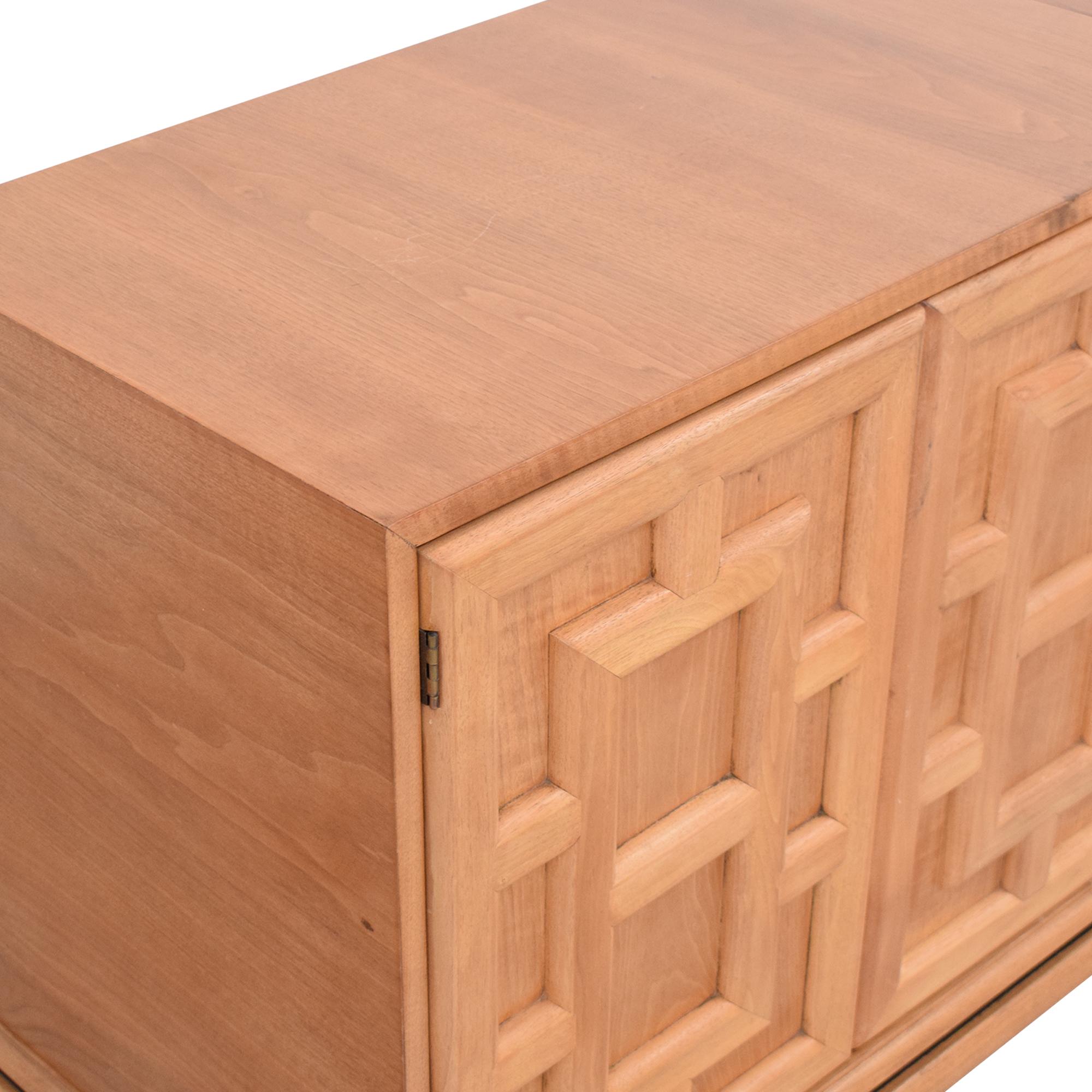Johnson Furniture Geometric Sideboard / Cabinets & Sideboards