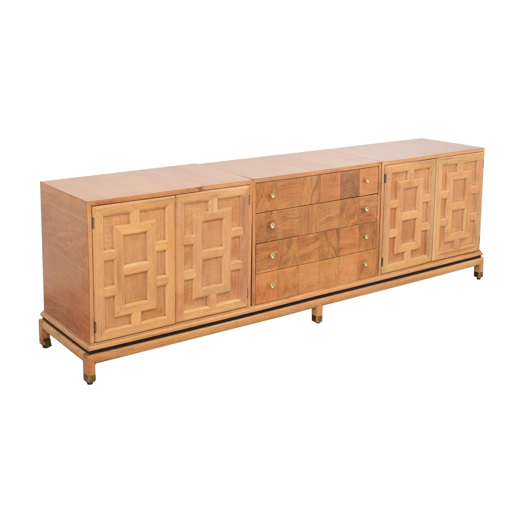 Johnson Furniture Johnson Furniture Geometric Sideboard discount