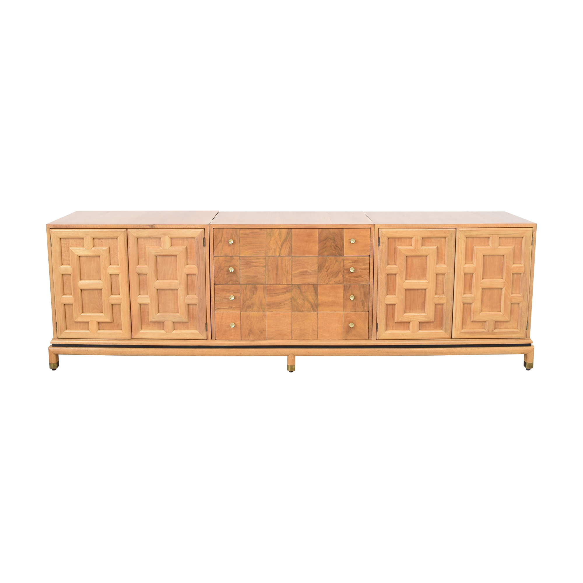 Johnson Furniture Johnson Furniture Geometric Sideboard light brown