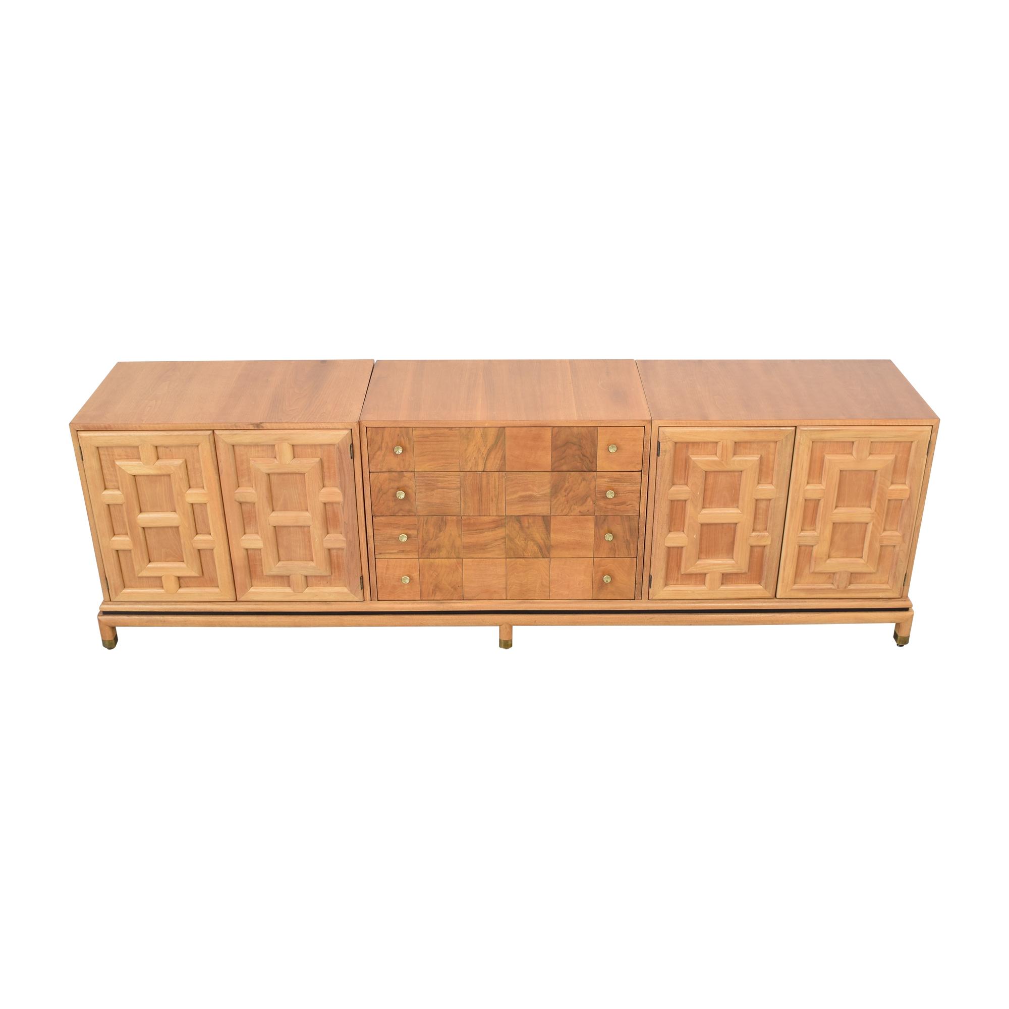 Johnson Furniture Johnson Furniture Geometric Sideboard used