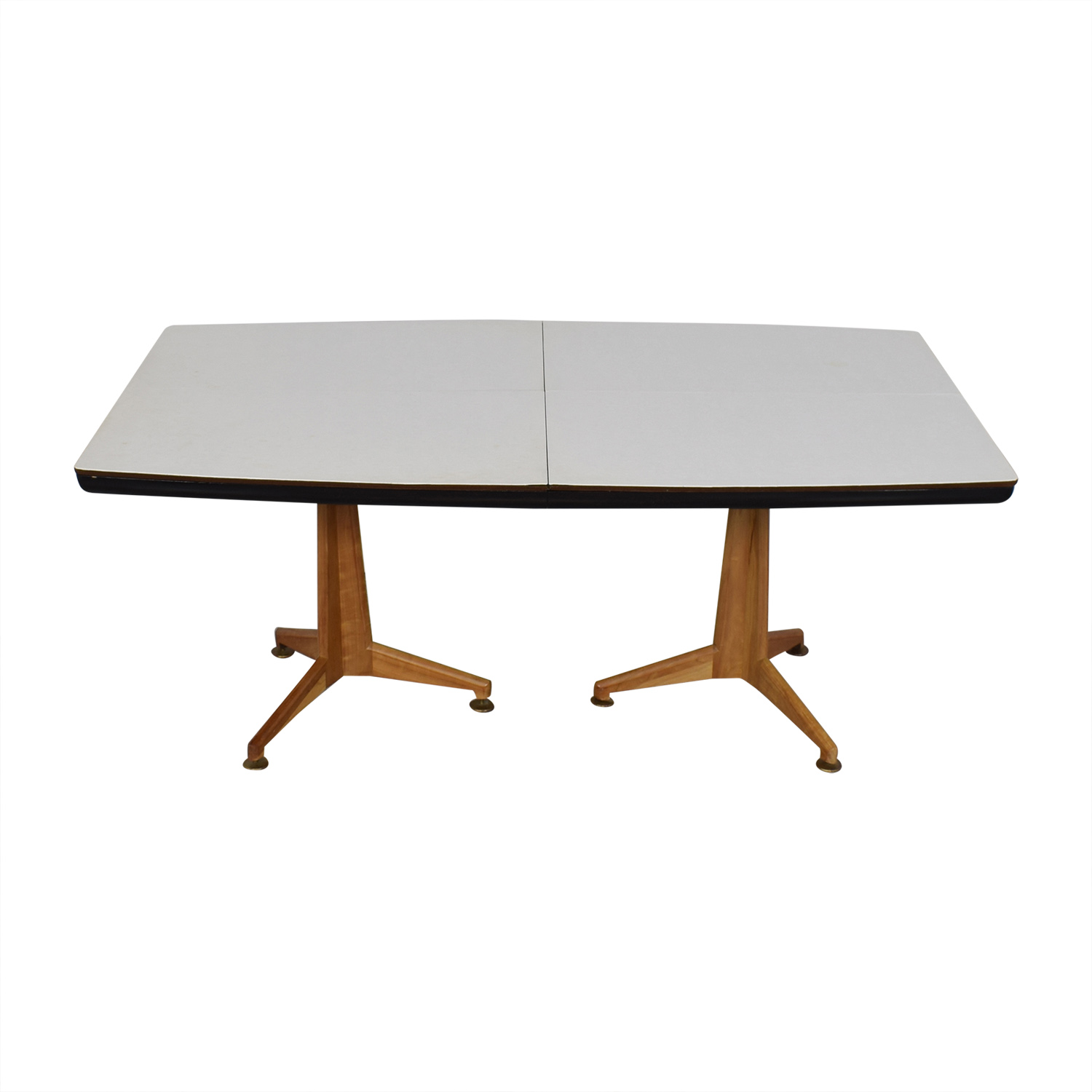 Johnson Furniture Johnson Furniture Mid Century Modern Extendable Dining Table nj