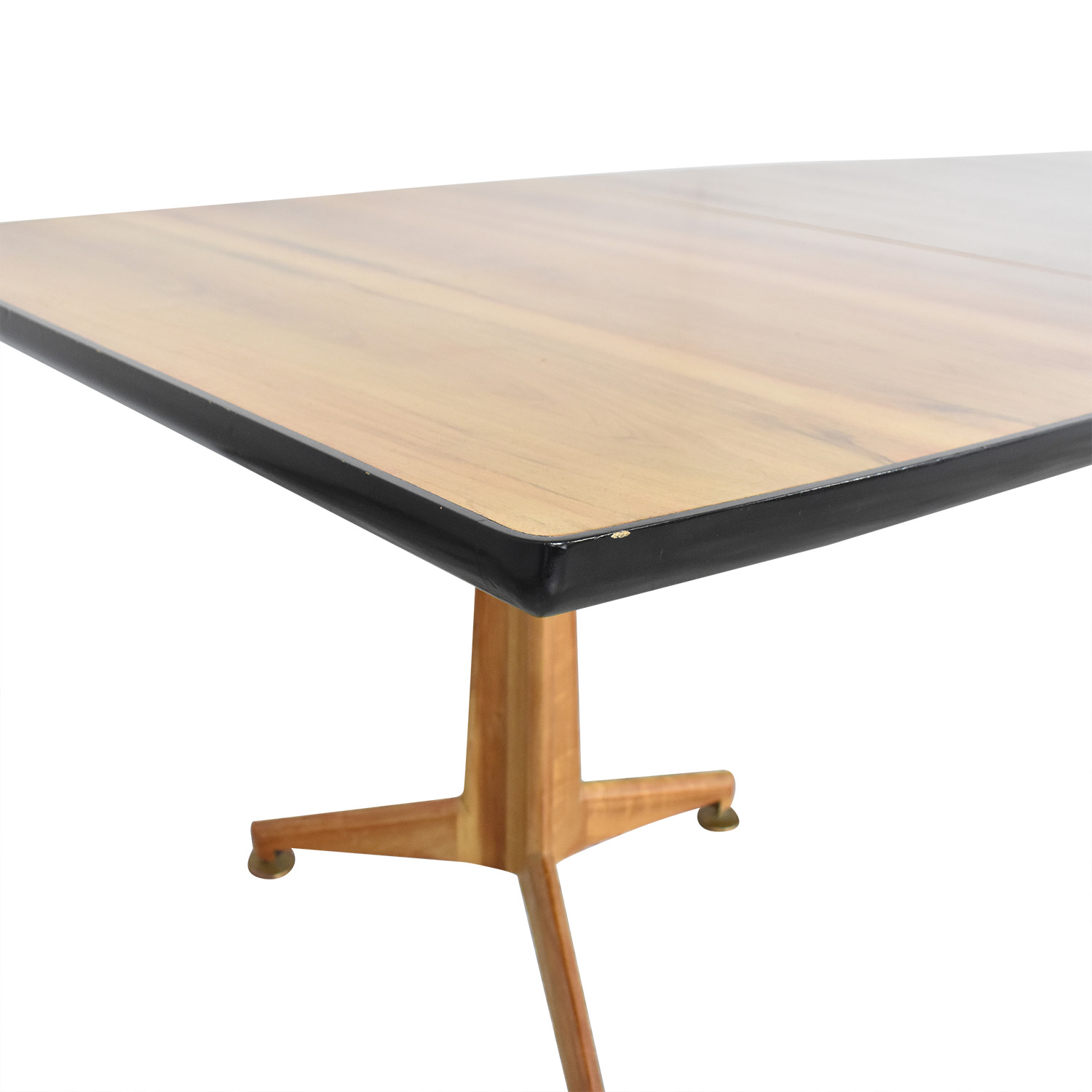 Johnson Furniture Mid Century Modern Extendable Dining Table / Tables