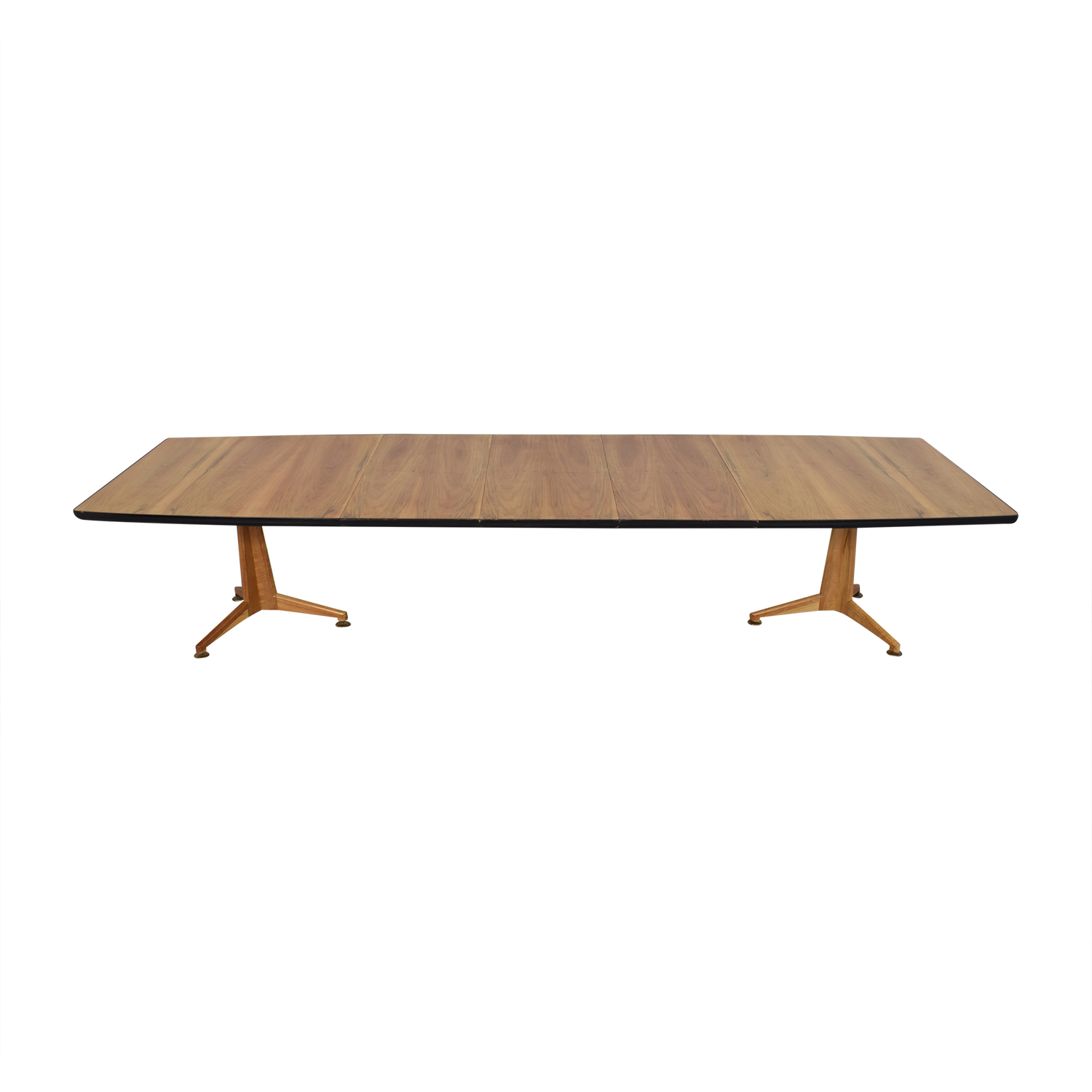 Johnson Furniture Johnson Furniture Mid Century Modern Extendable Dining Table Dinner Tables