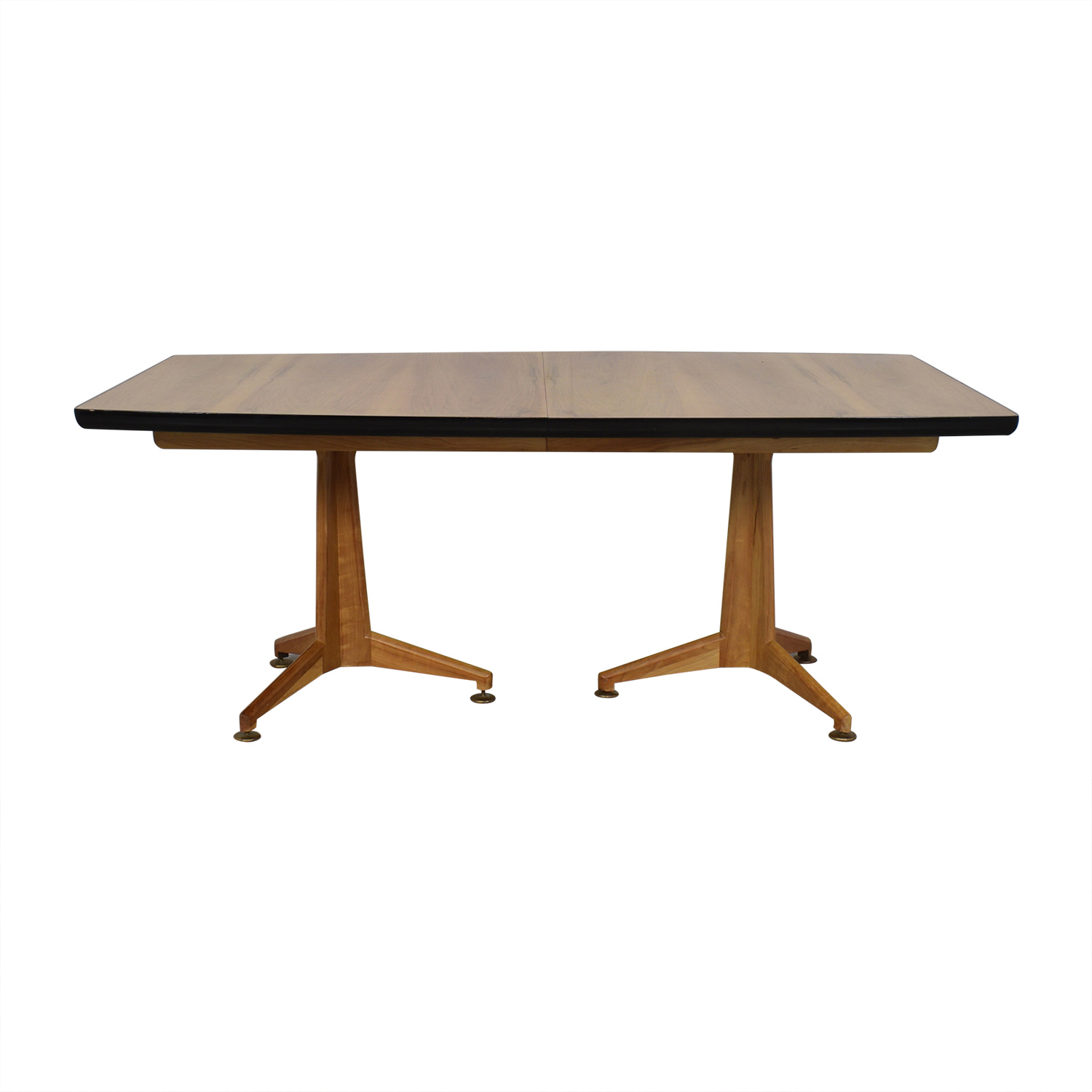 Johnson Furniture Johnson Furniture Mid Century Modern Extendable Dining Table coupon