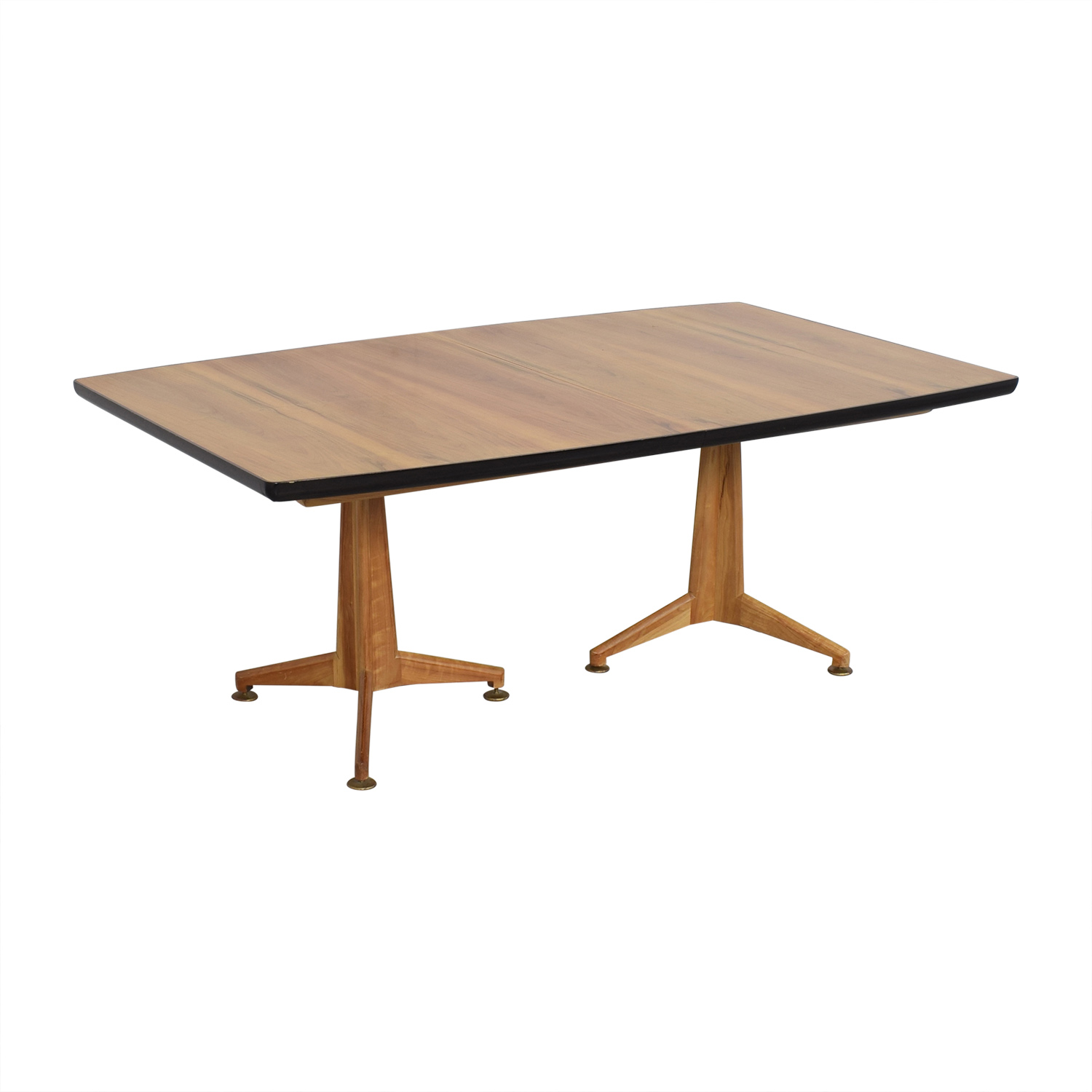 shop Johnson Furniture Mid Century Modern Extendable Dining Table Johnson Furniture Dinner Tables