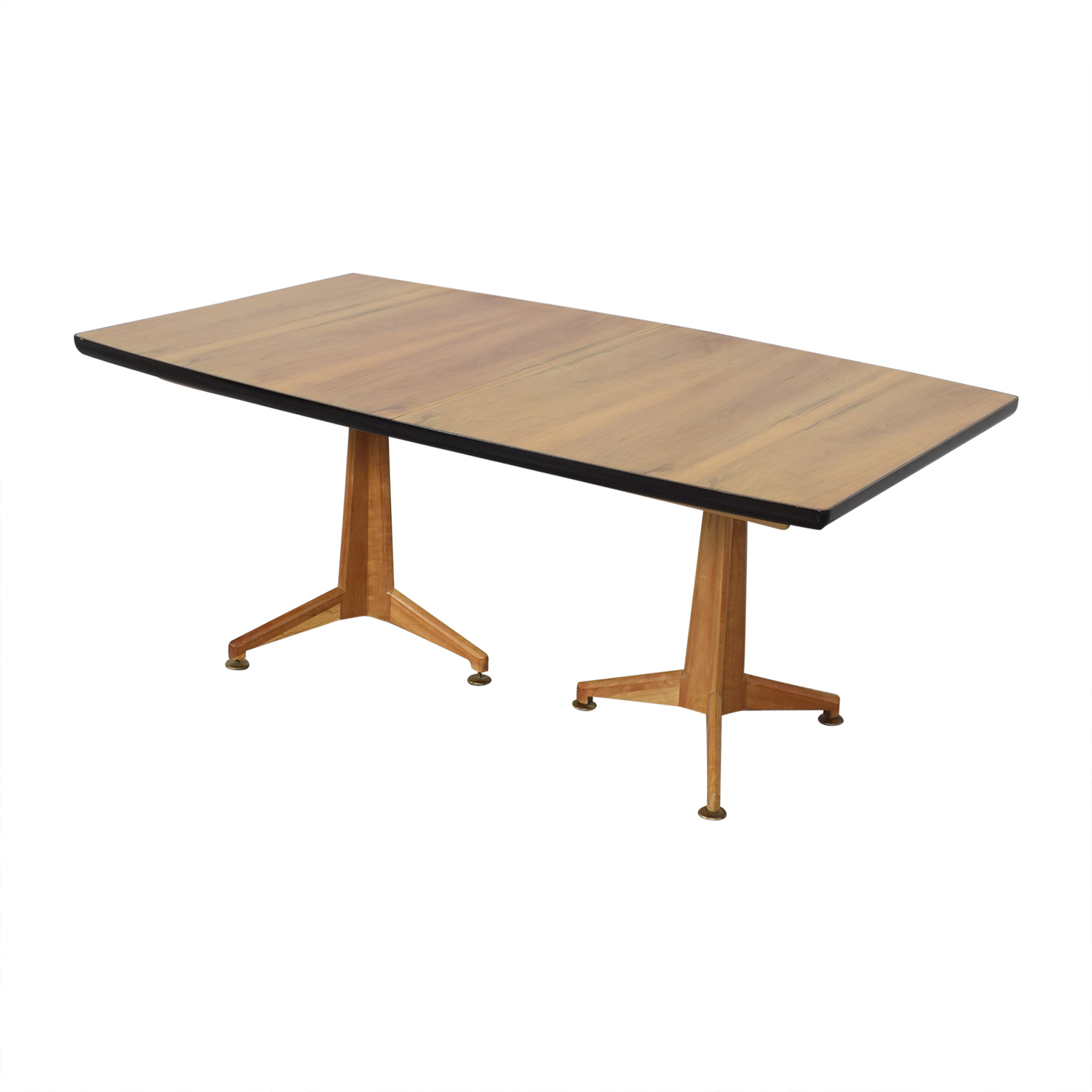 Johnson Furniture Johnson Furniture Mid Century Modern Extendable Dining Table on sale