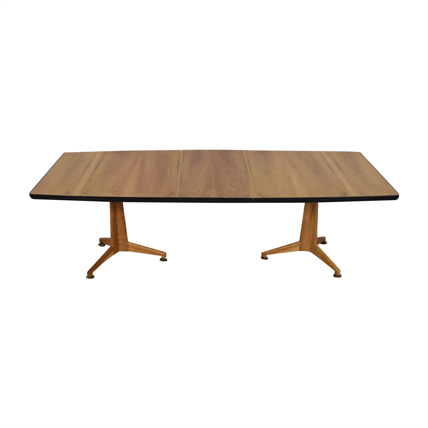 Johnson Furniture Johnson Furniture Mid Century Modern Extendable Dining Table for sale