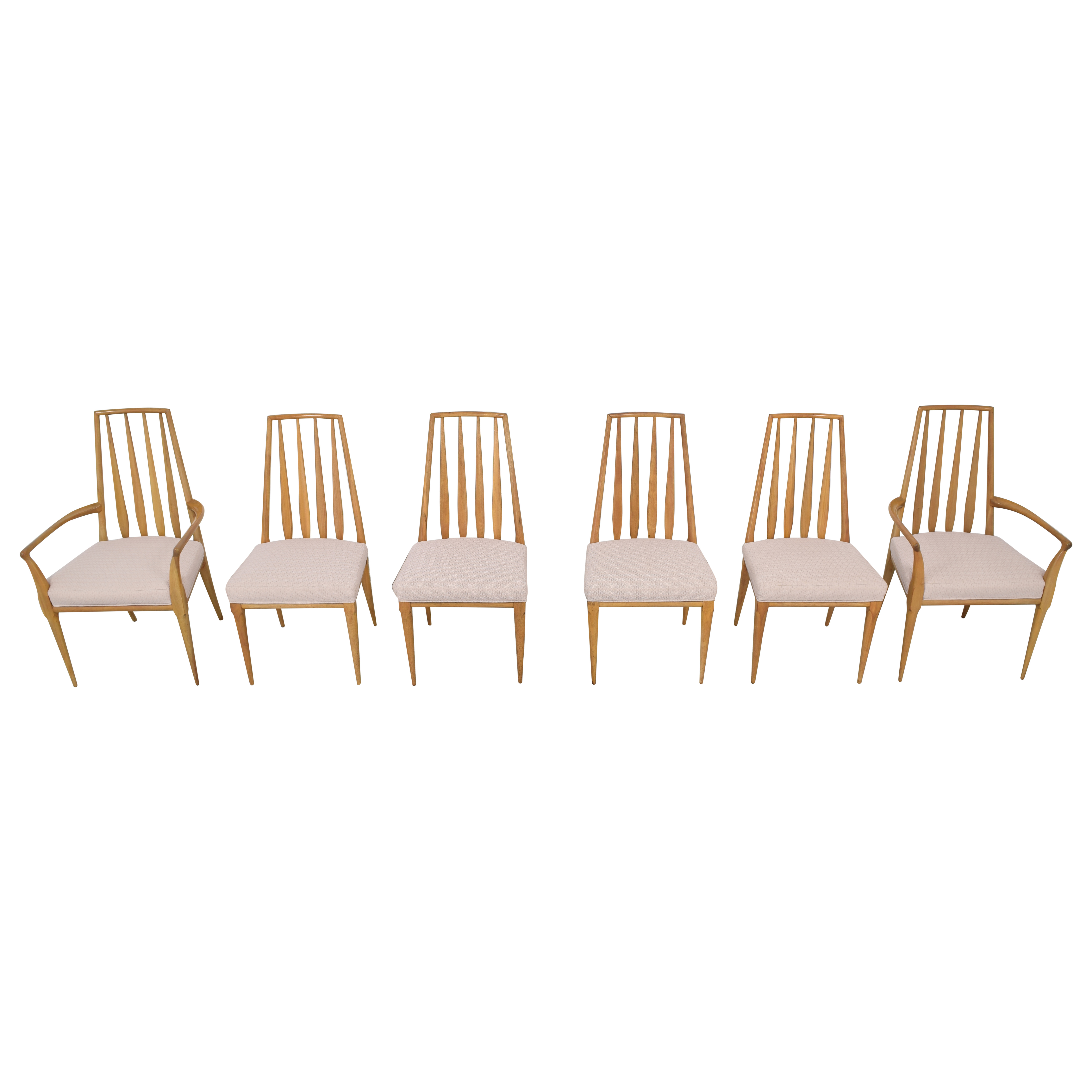 Johnson Furniture Johnson Furniture Spindle Back Dining Chairs pa