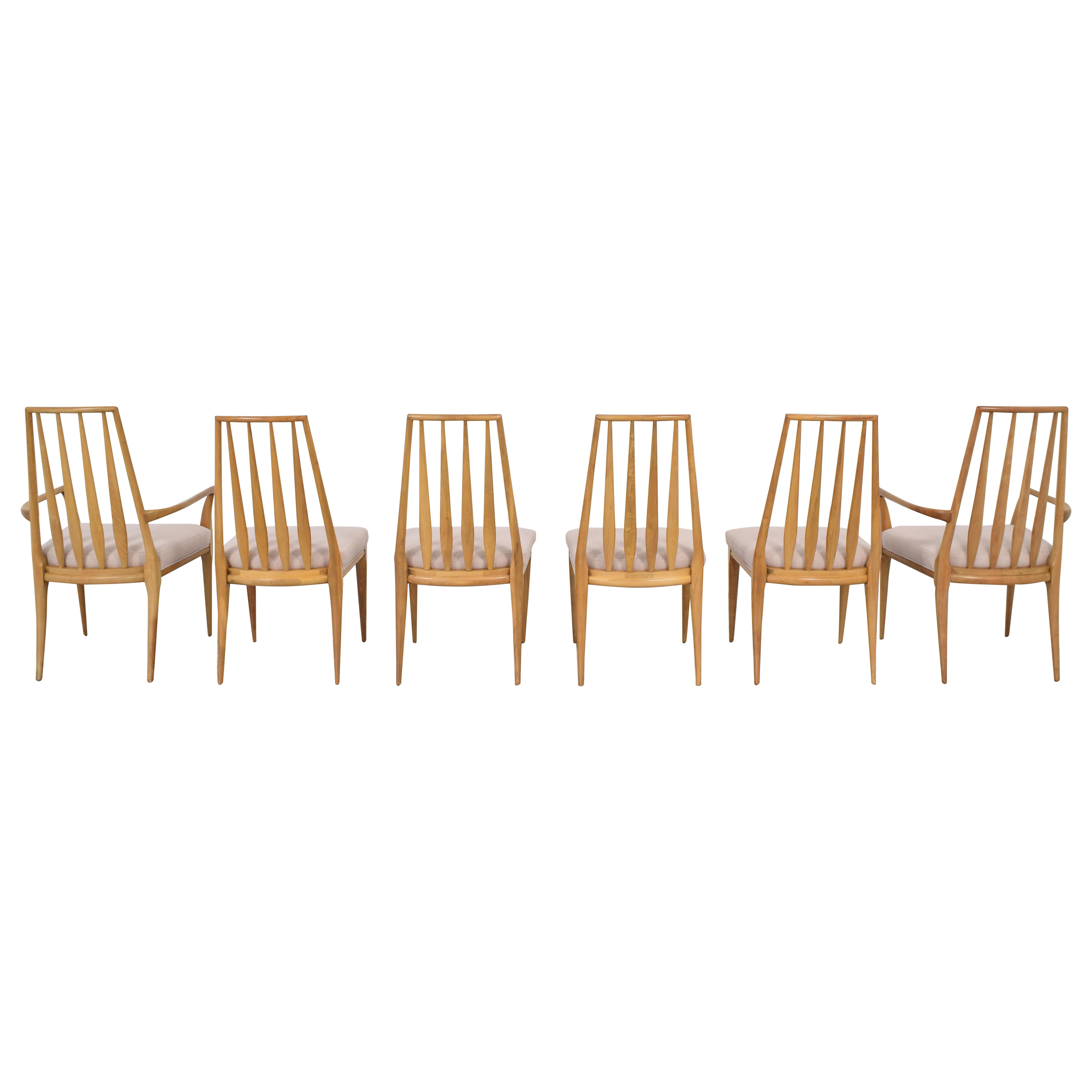 shop Johnson Furniture Spindle Back Dining Chairs Johnson Furniture Dining Chairs