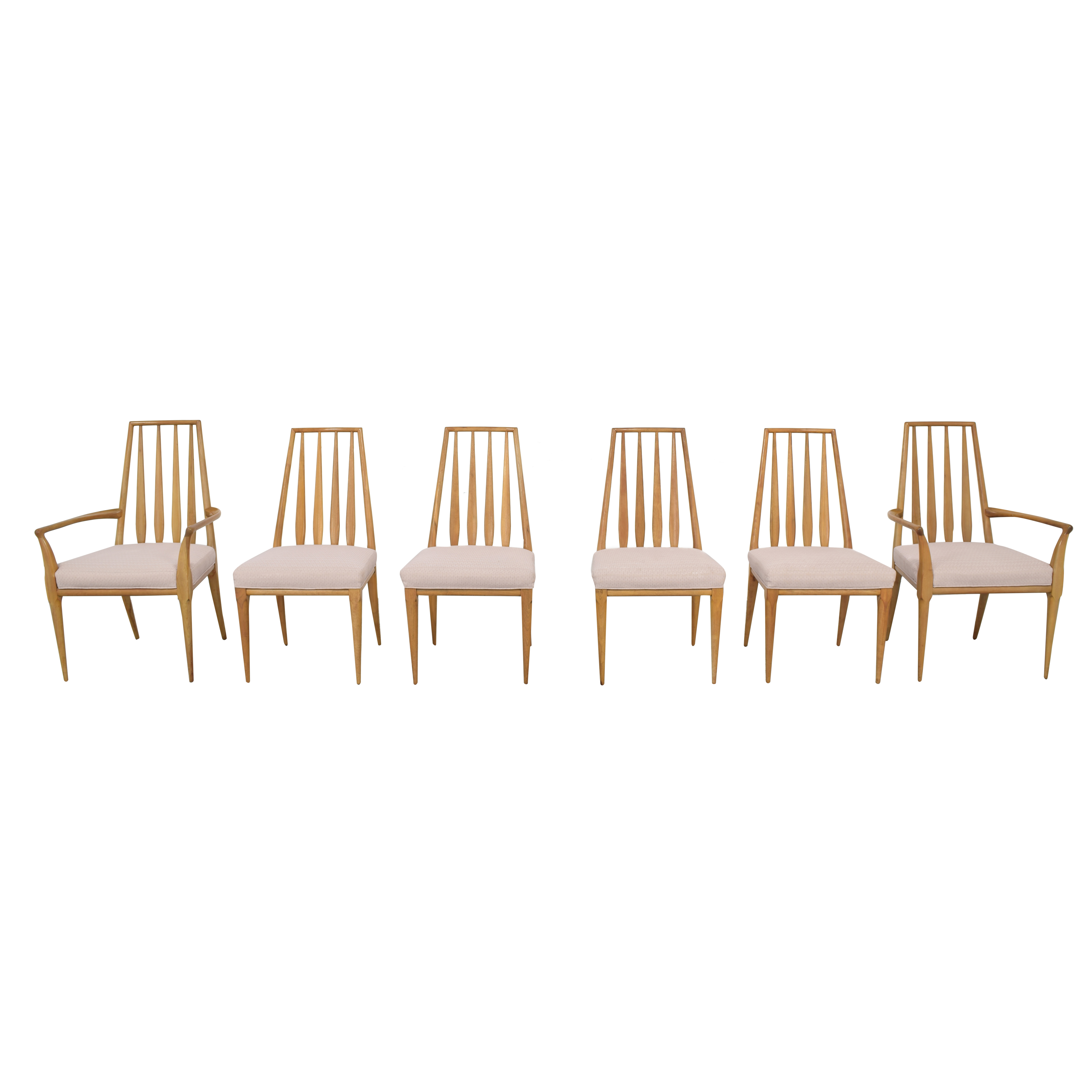 Johnson Furniture Johnson Furniture Spindle Back Dining Chairs discount