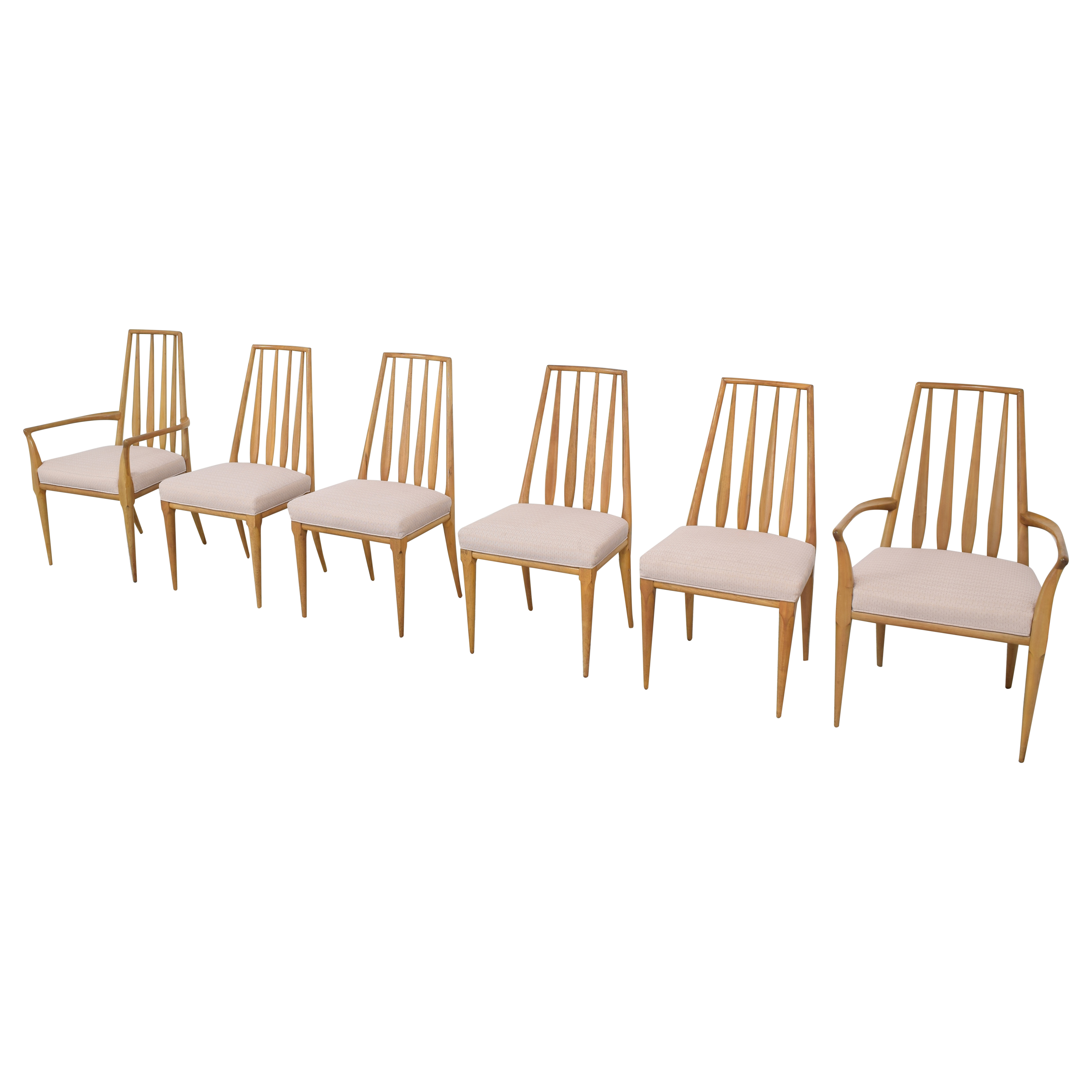 Johnson Furniture Johnson Furniture Spindle Back Dining Chairs ct