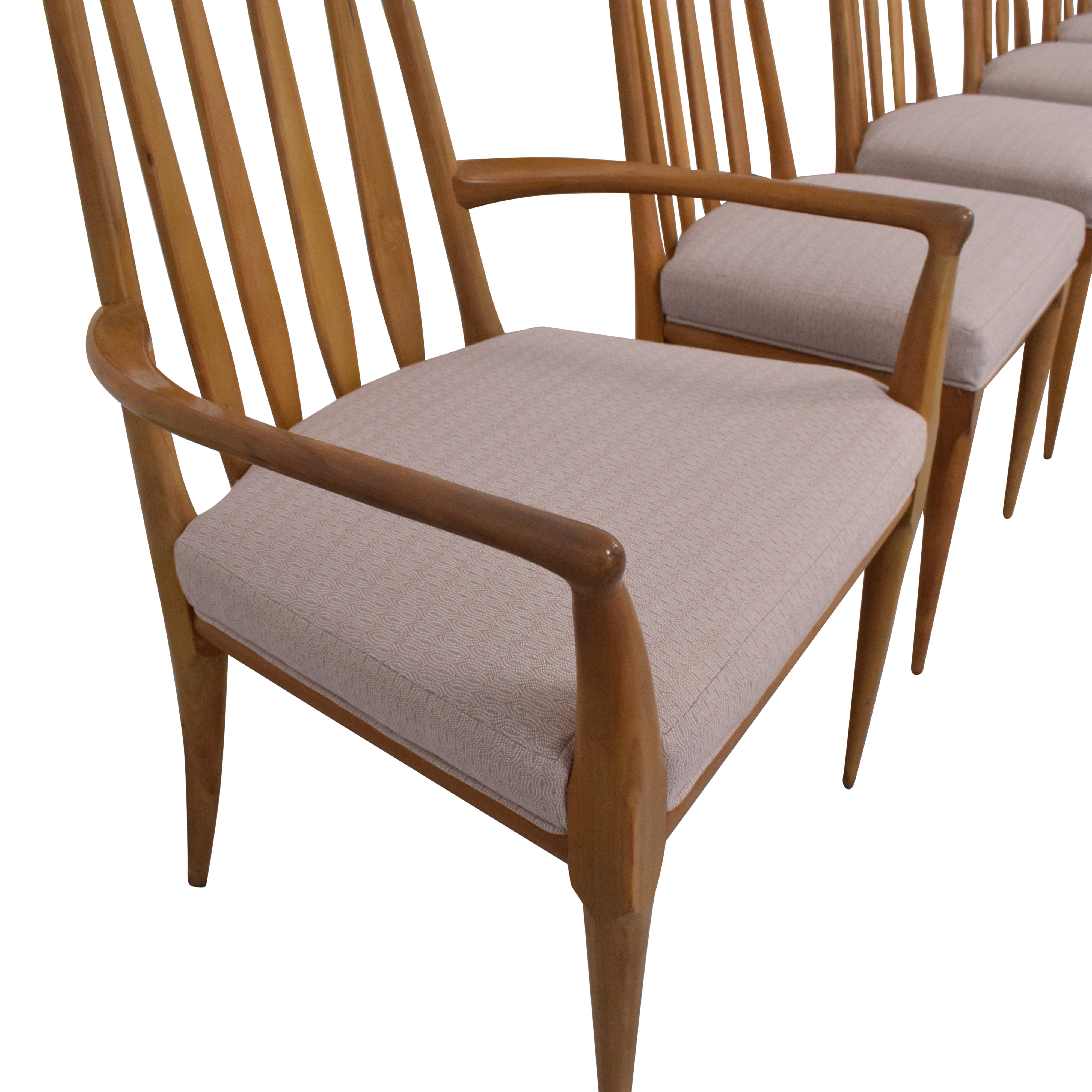 Johnson Furniture Johnson Furniture Spindle Back Dining Chairs used