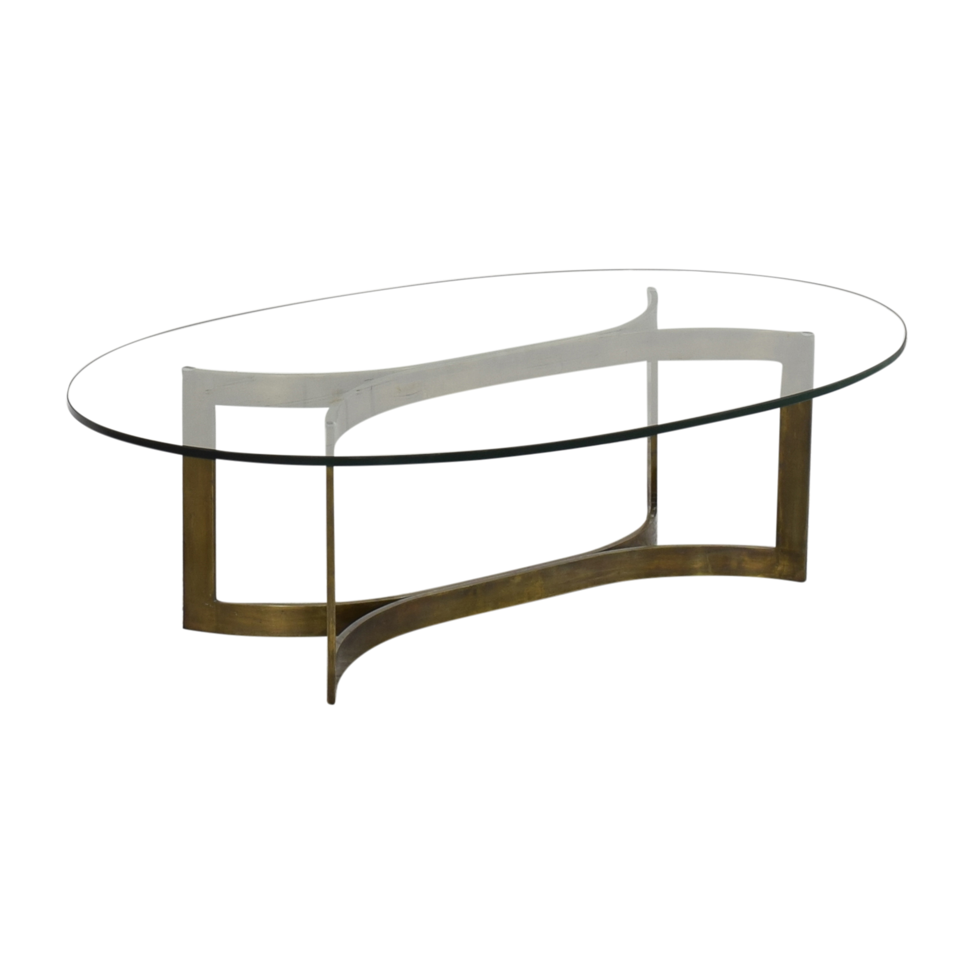 buy Modern Oval Coffee Table  Coffee Tables