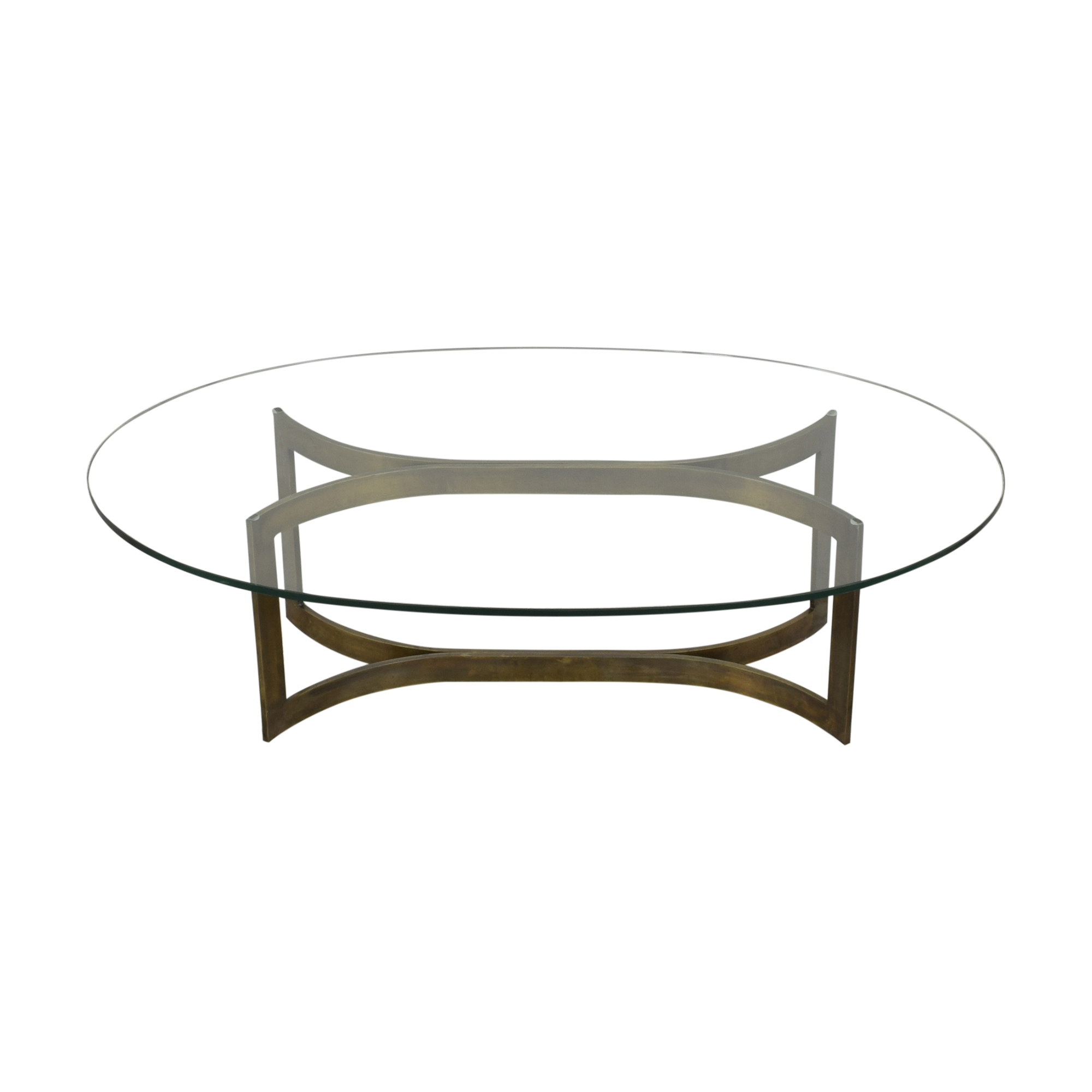 Modern Oval Coffee Table discount