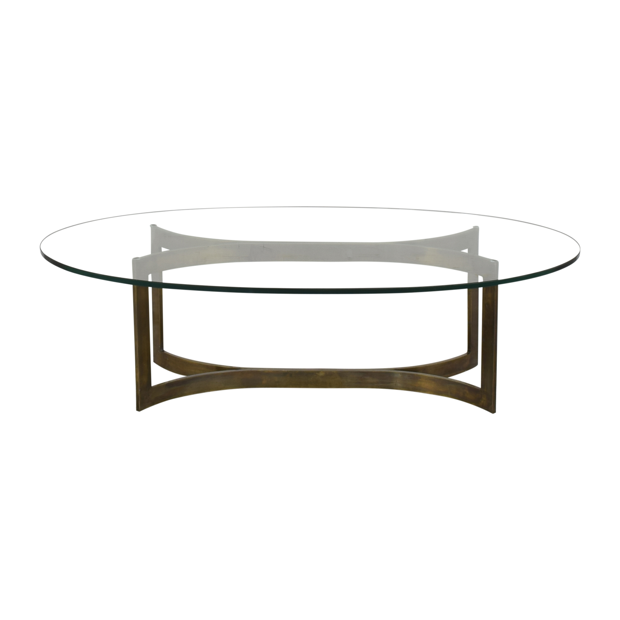Modern Oval Coffee Table / Tables