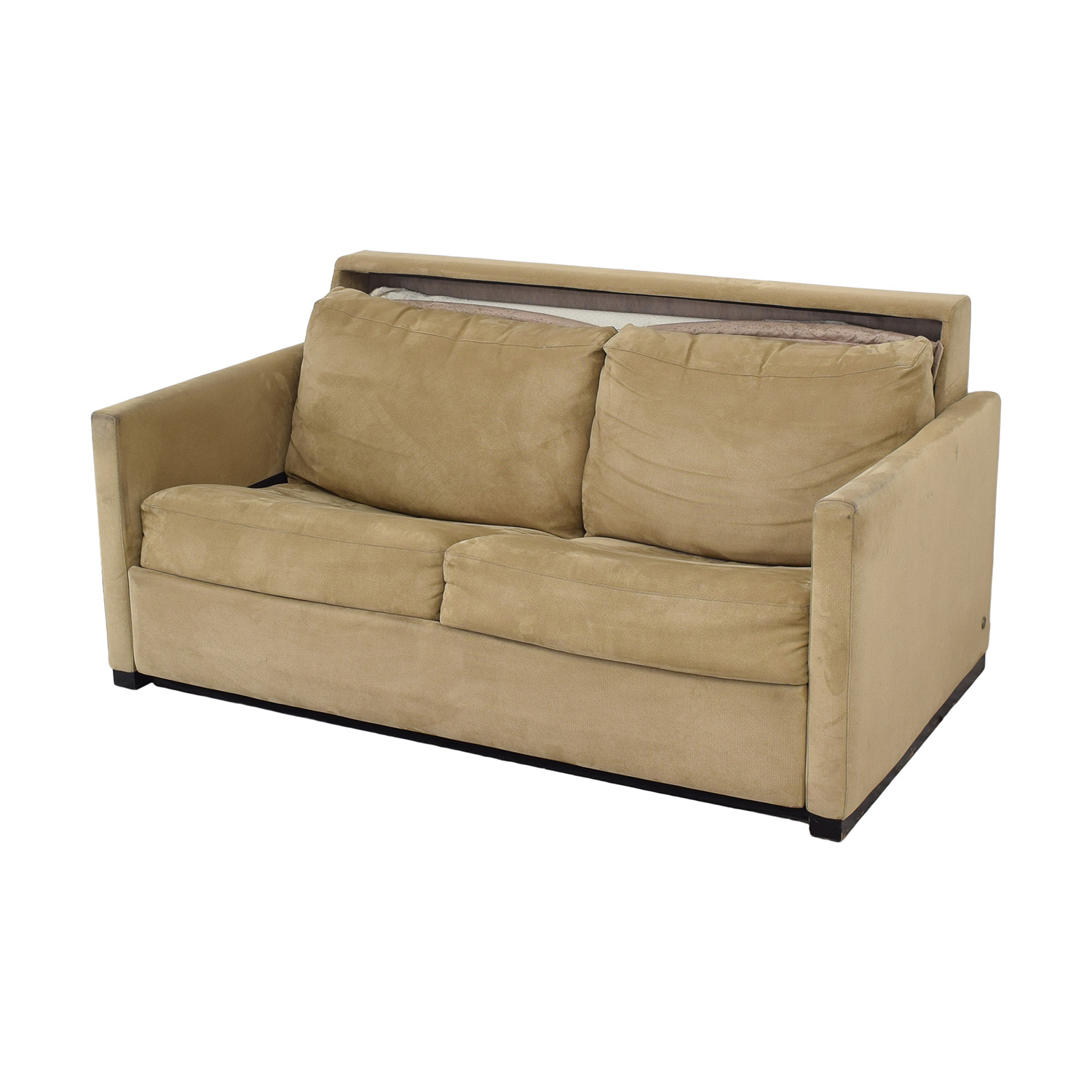 buy American Leather Patterson Sleeper Sofa with Ottoman American Leather Sofa Beds