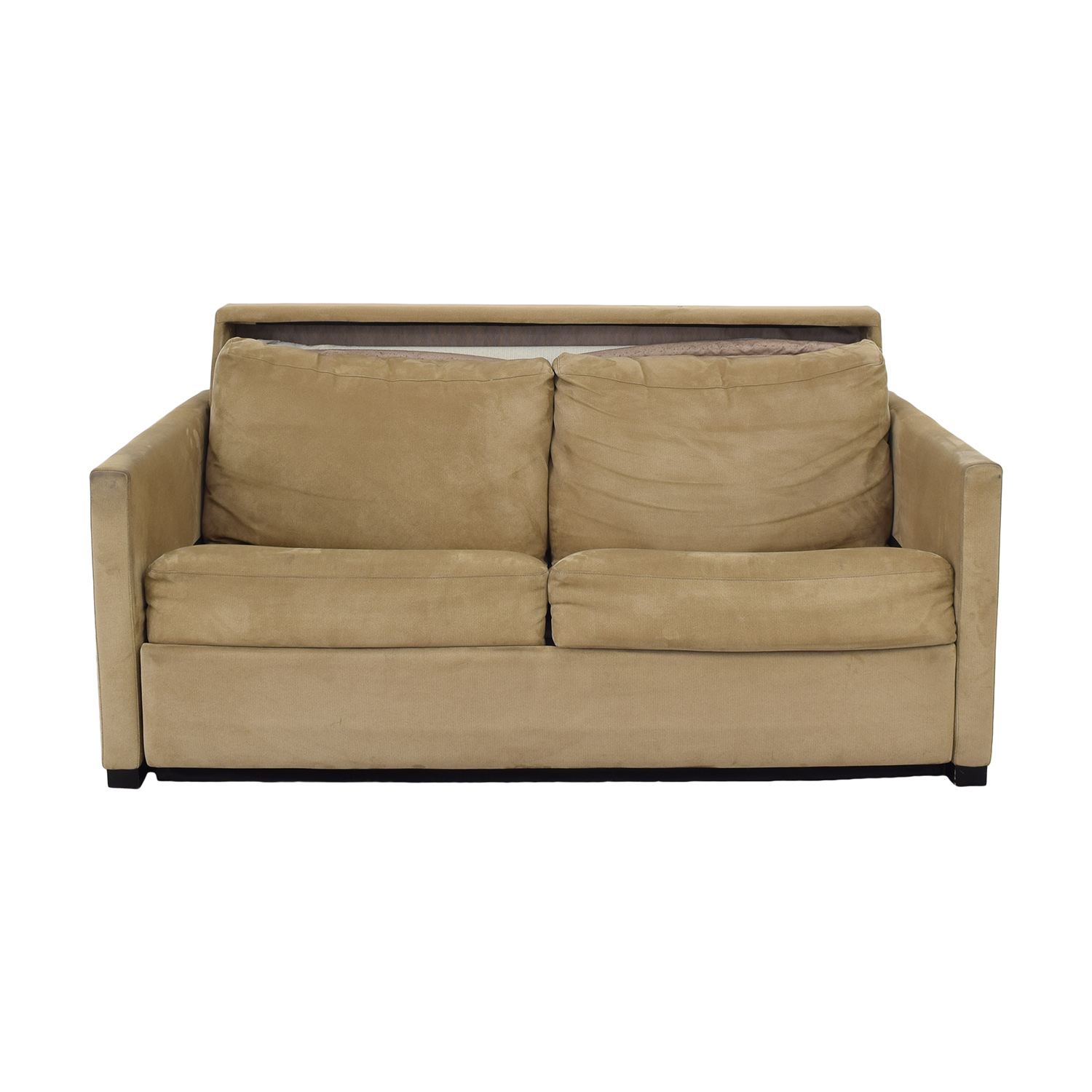 shop American Leather Patterson Sleeper Sofa with Ottoman American Leather