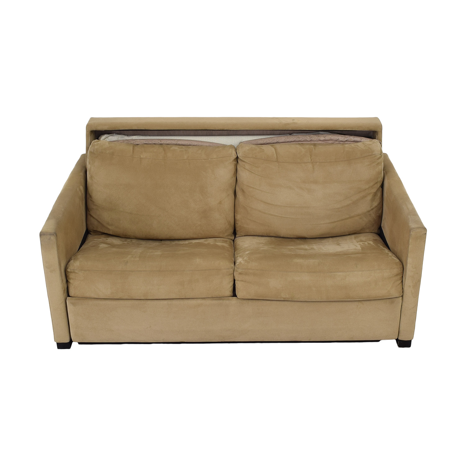 American Leather American Leather Patterson Sleeper Sofa with Ottoman used