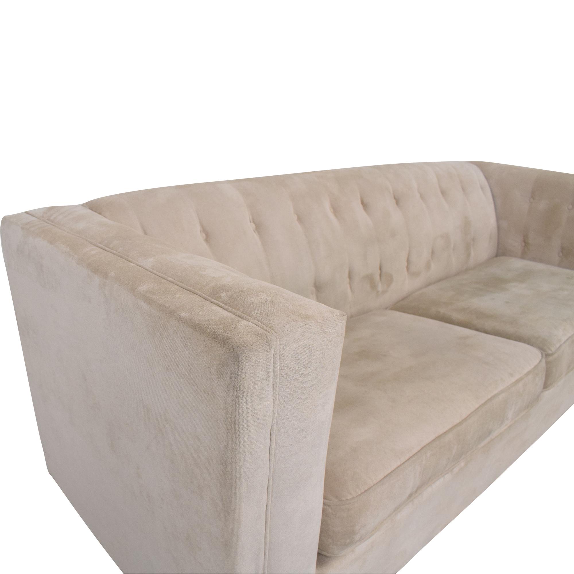 Coaster Fine Furniture Coaster Fine Furniture Alexis Tufted Sofa nyc
