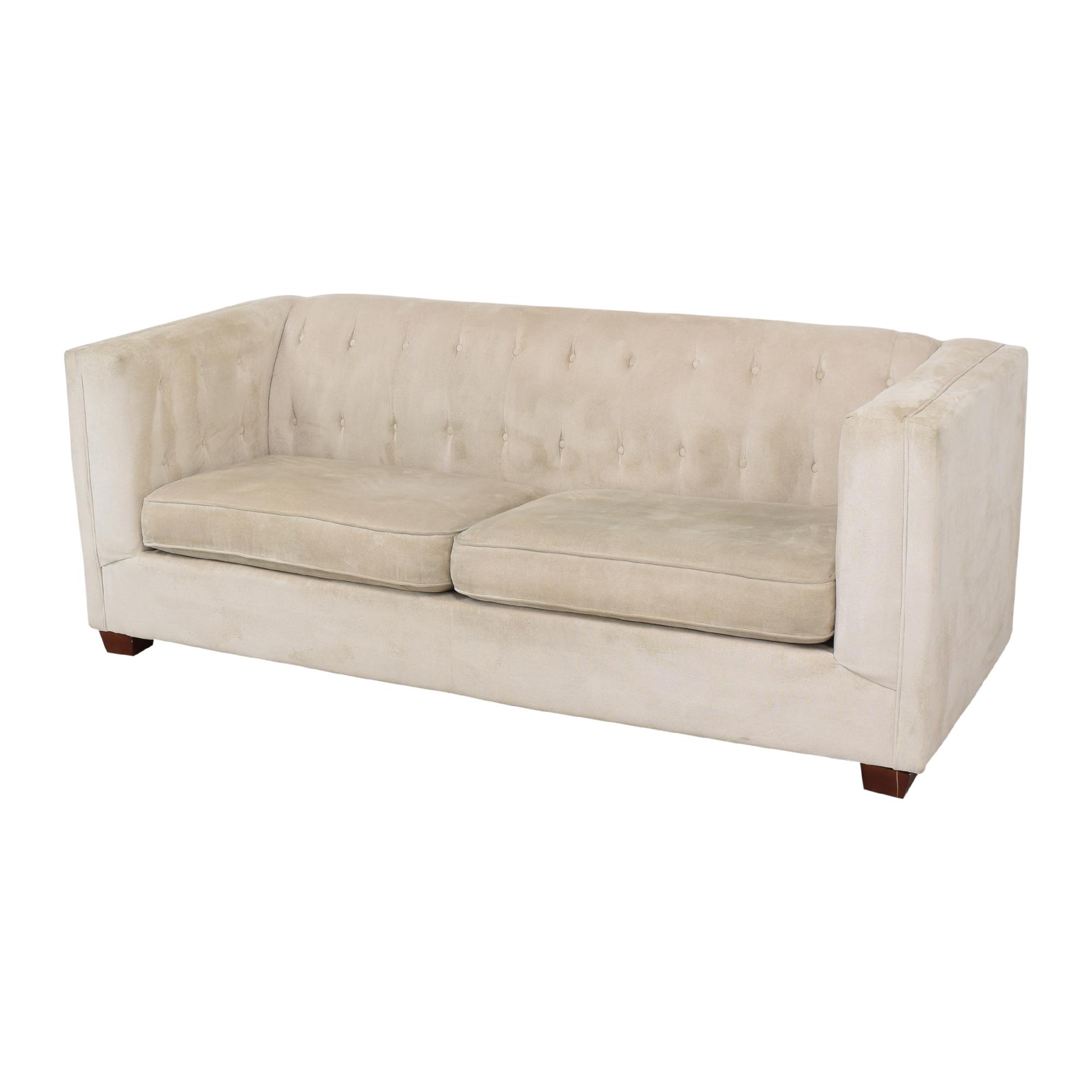 shop Coaster Fine Furniture Alexis Tufted Sofa Coaster Fine Furniture