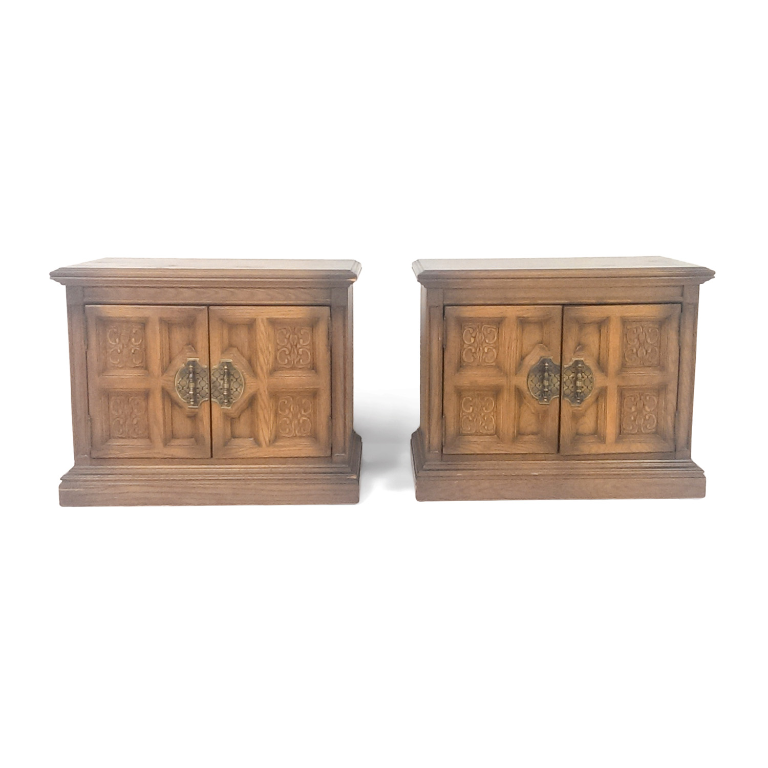 Drexel Henredon End Table Set Drexel Henredon