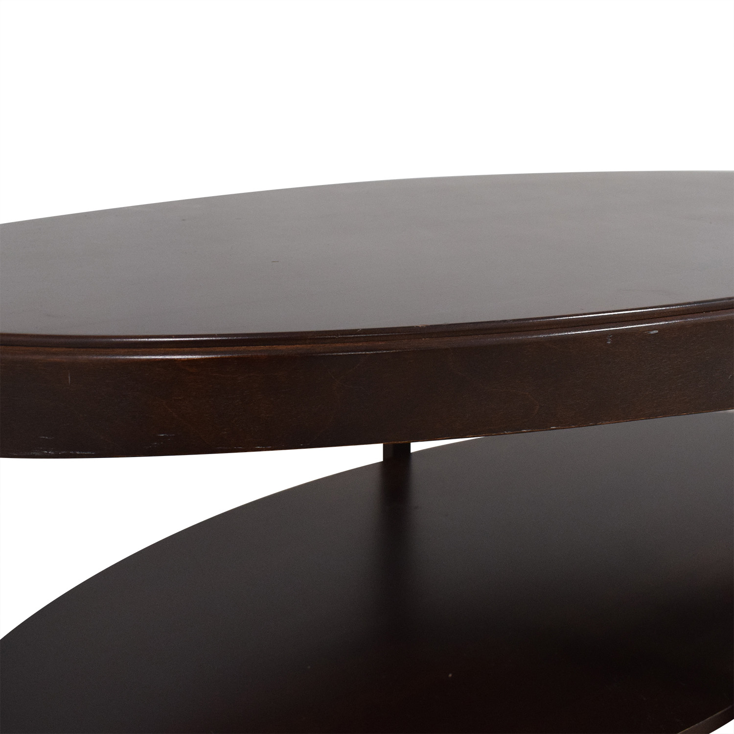 Shermag Shermag Oval Coffee Table for sale