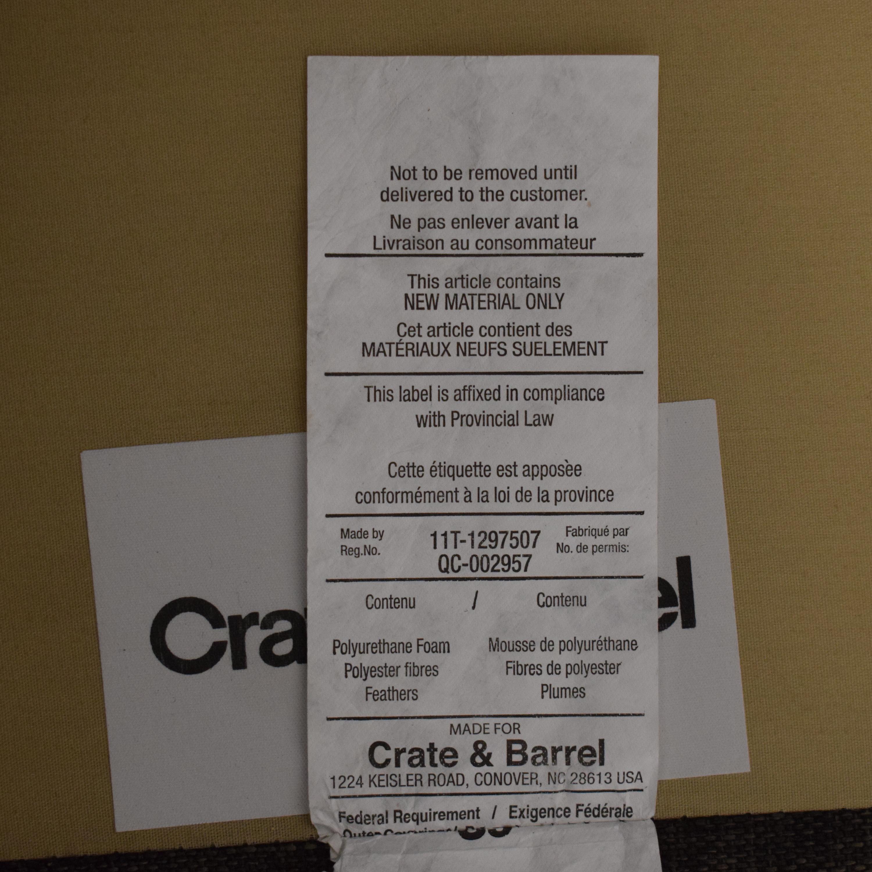 Crate & Barrel Crate & Barrel Sectional Sofa nj