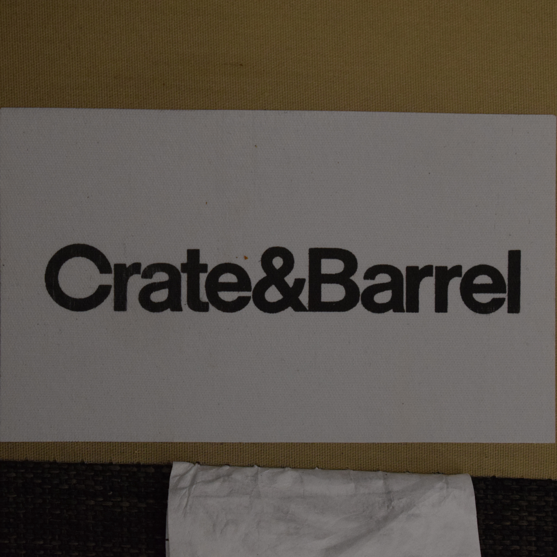buy Crate & Barrel Sectional Sofa Crate & Barrel Sectionals