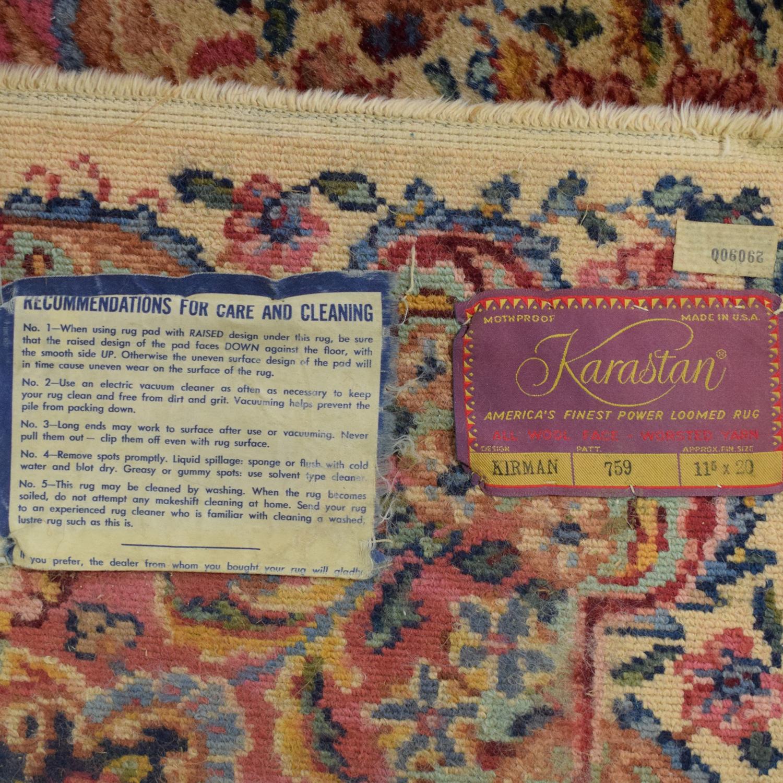 Karastan Karastan Kirman Vintage Extra Large Kirman Style Rug Pattern 759 coupon