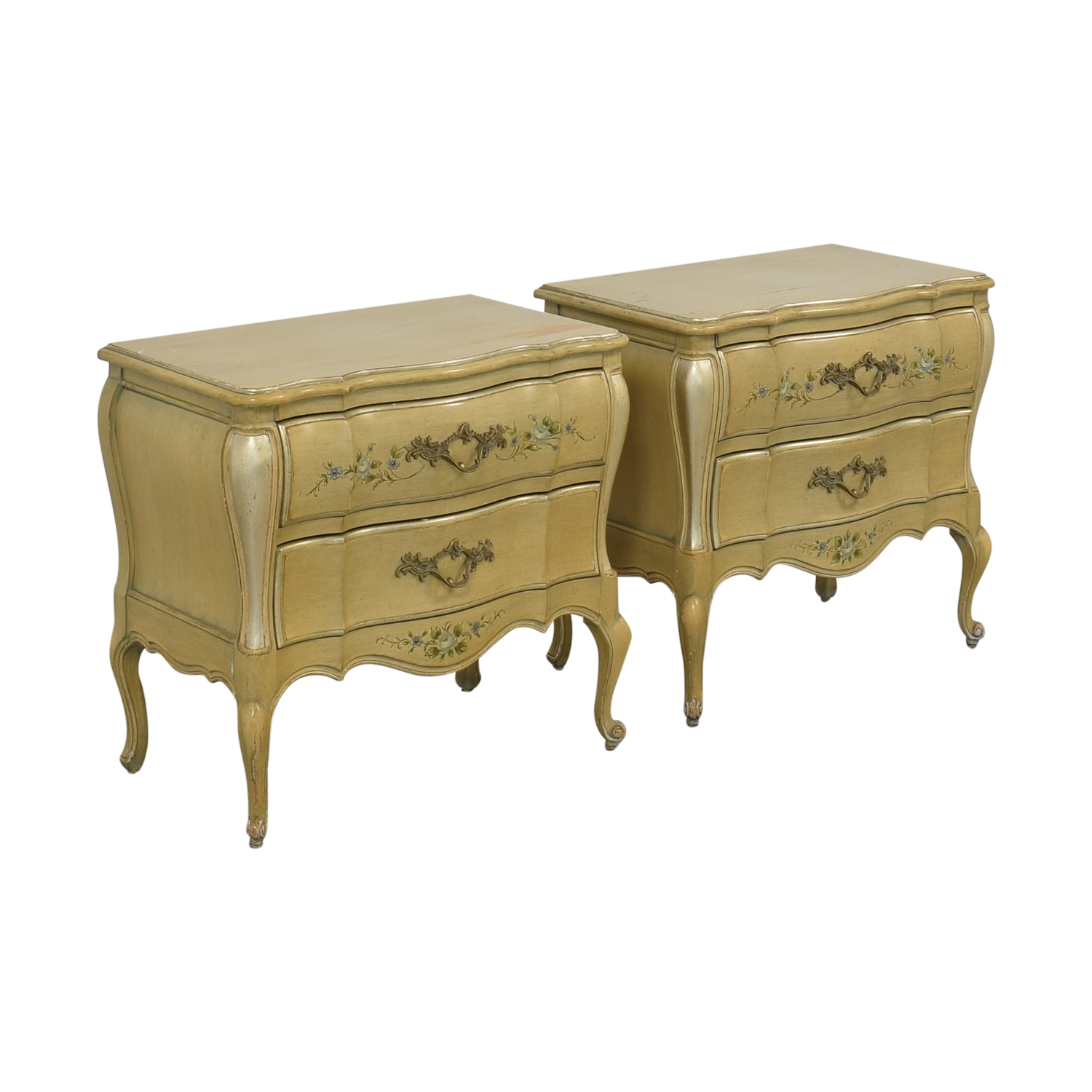Rucker Industries Rucker Industries Dixon Powdermaker French Provincial Style Nightstands coupon