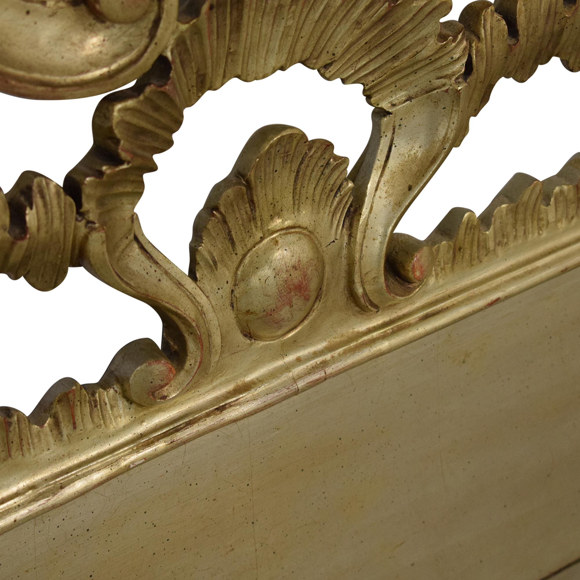 Vintage Ornate King Headboard