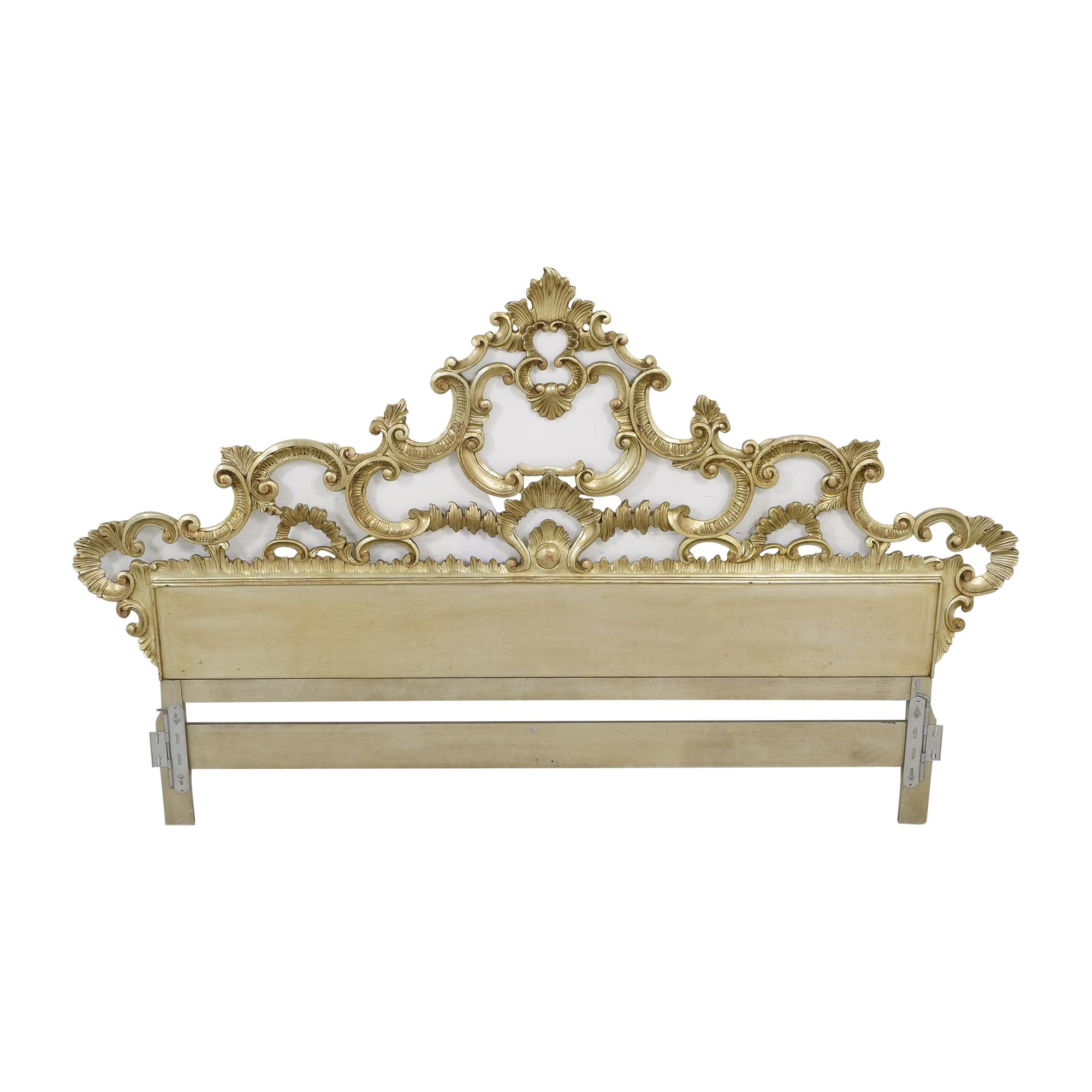 buy Vintage Ornate King Headboard  Beds