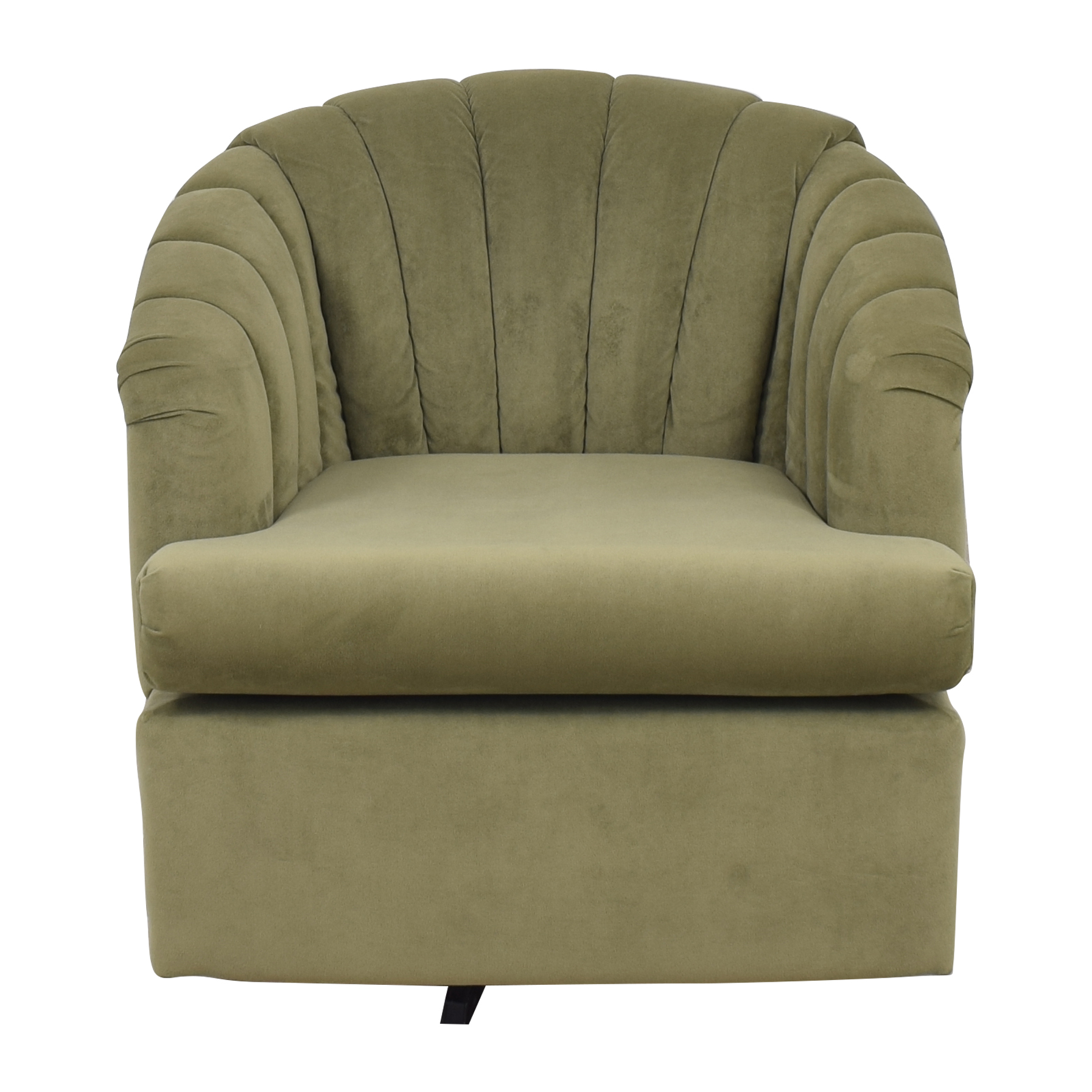 Best Chairs Best Chairs Elaine Swivel Barrel Chair second hand