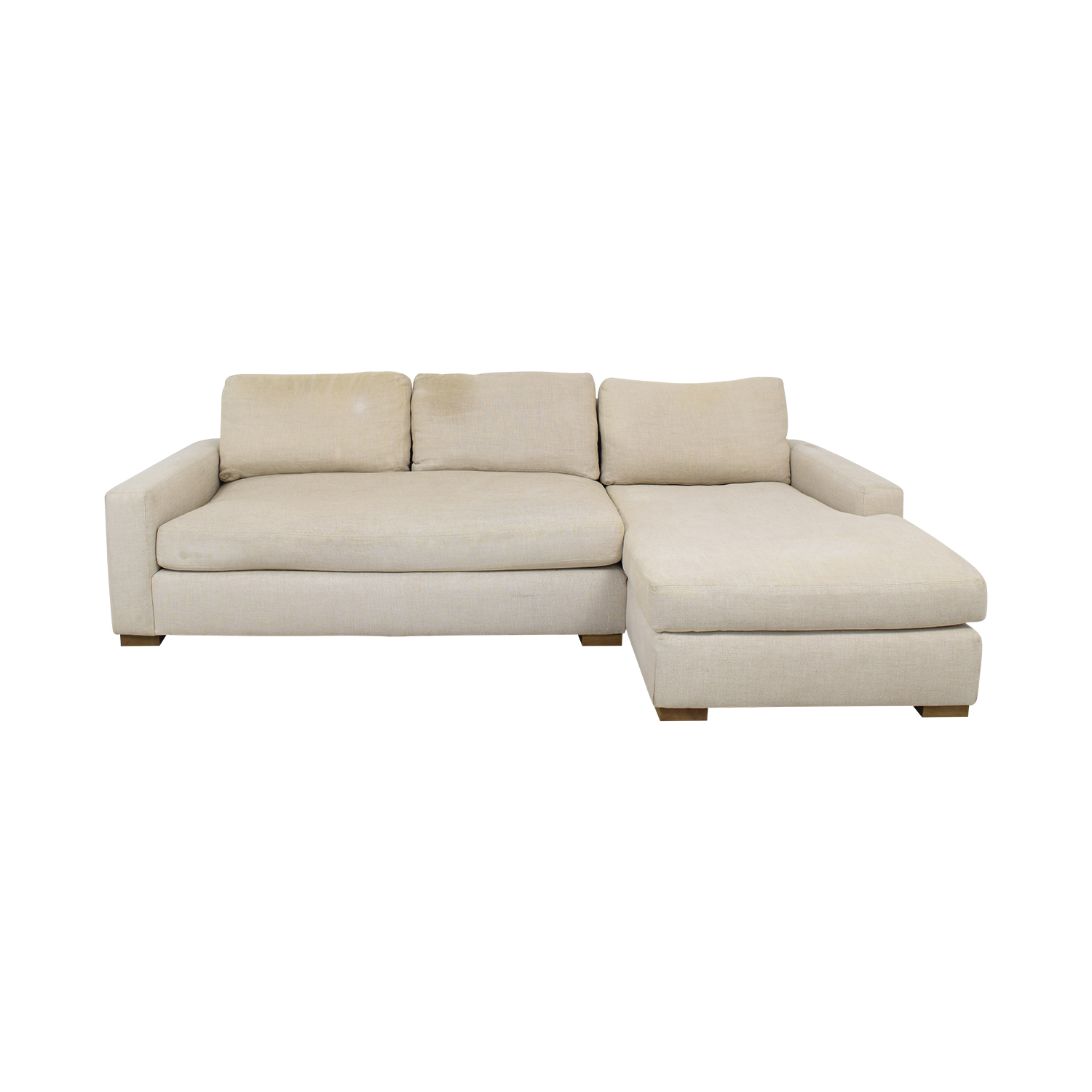Restoration Hardware Restoration Hardware Maxwell Chaise Sectional Sofa Sectionals