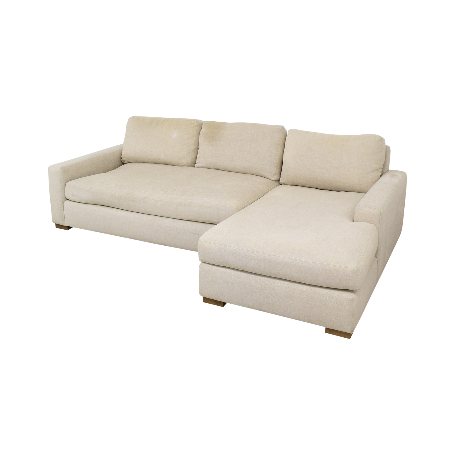 Restoration Hardware Restoration Hardware Maxwell Chaise Sectional Sofa coupon