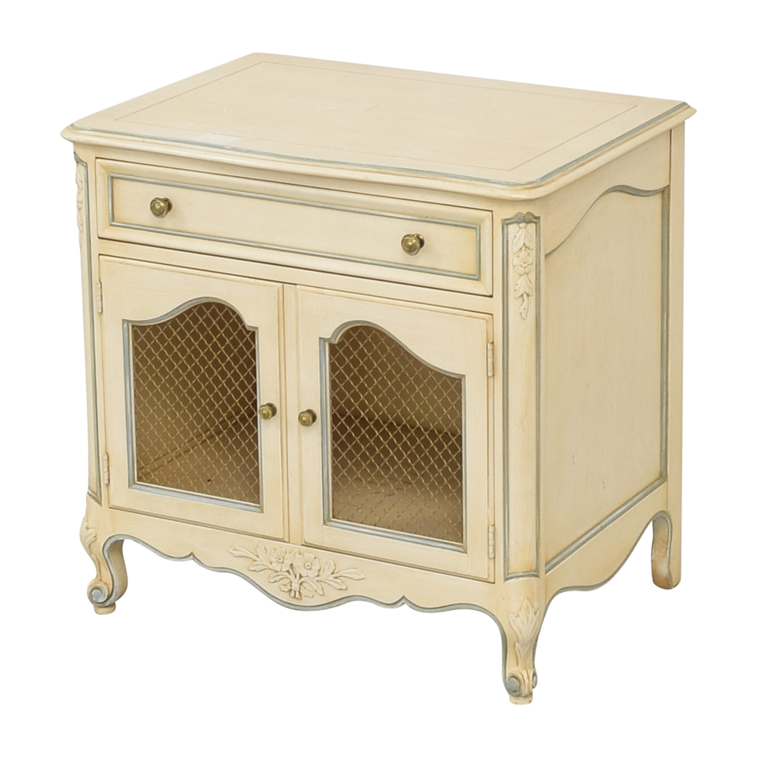 shop Kindel Vintage French Provincial Nightstand Kindel Tables