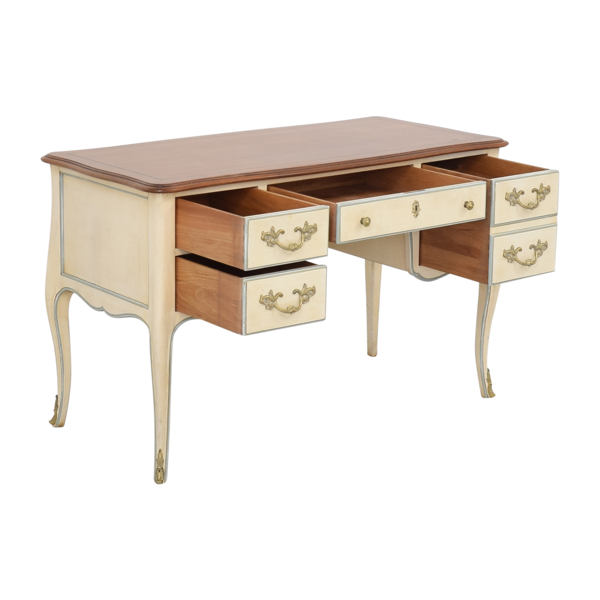 Kindel Kindel Vintage French Provincial Desk nyc