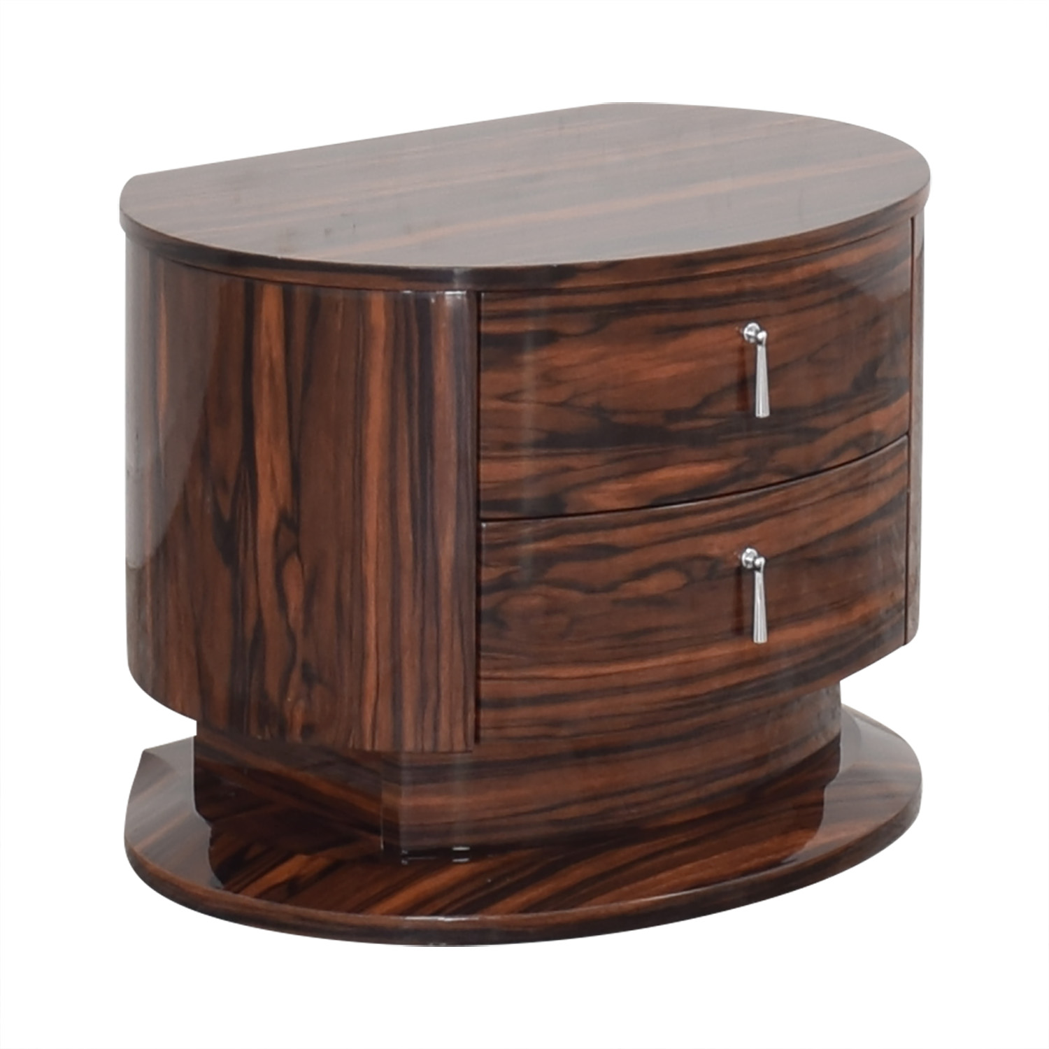 Two Drawer Night Stand nj