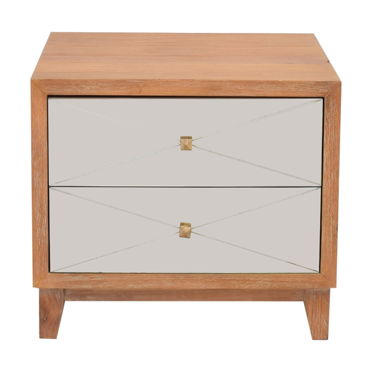 Brownstone Furniture Brownstone Furniture Mirrored Nightstand ct