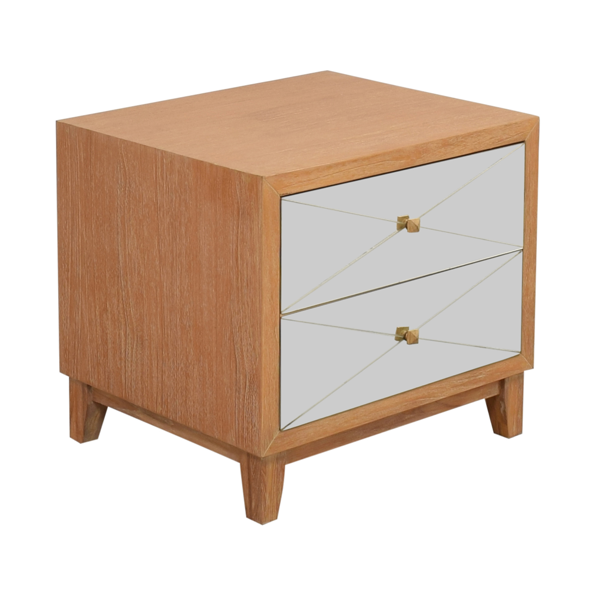 Brownstone Furniture Mirrored Nightstand sale