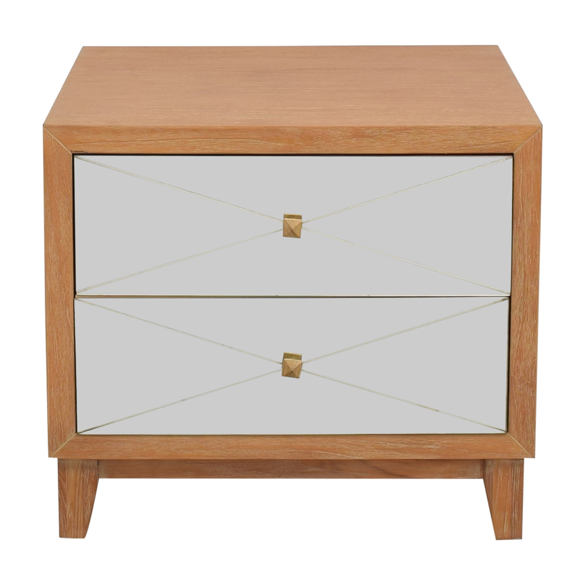 Brownstone Furniture Brownstone Furniture Mirrored Nightstand ma