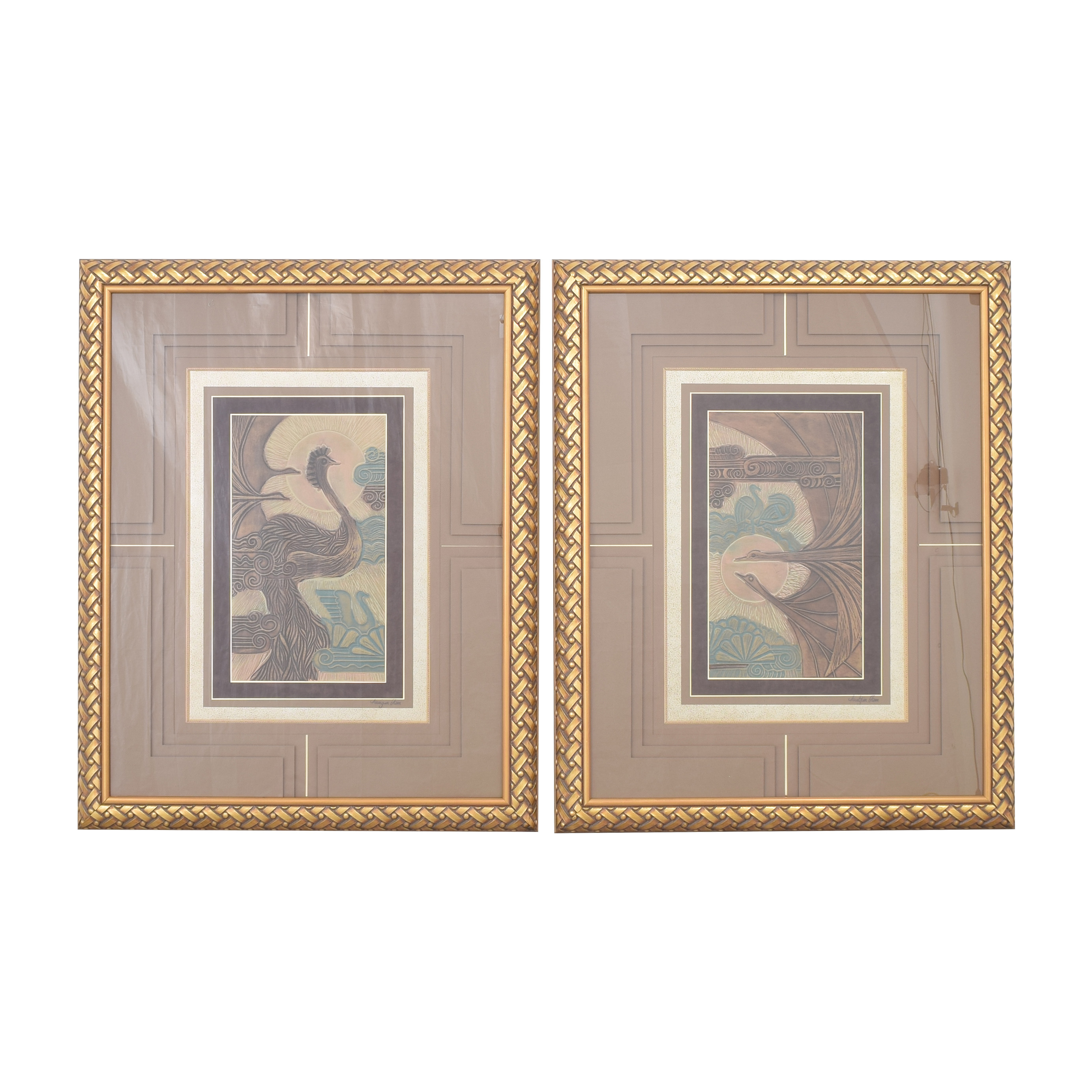 Framed Wall Art multicolored