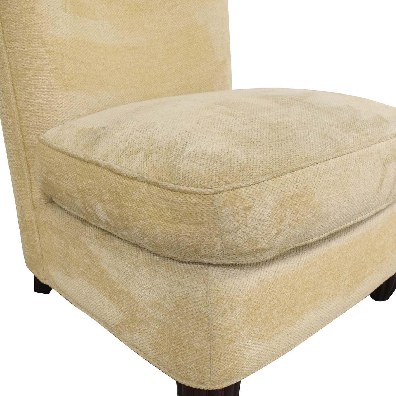 buy Baker Furniture Barbara Barry Slipper Chair Baker Furniture