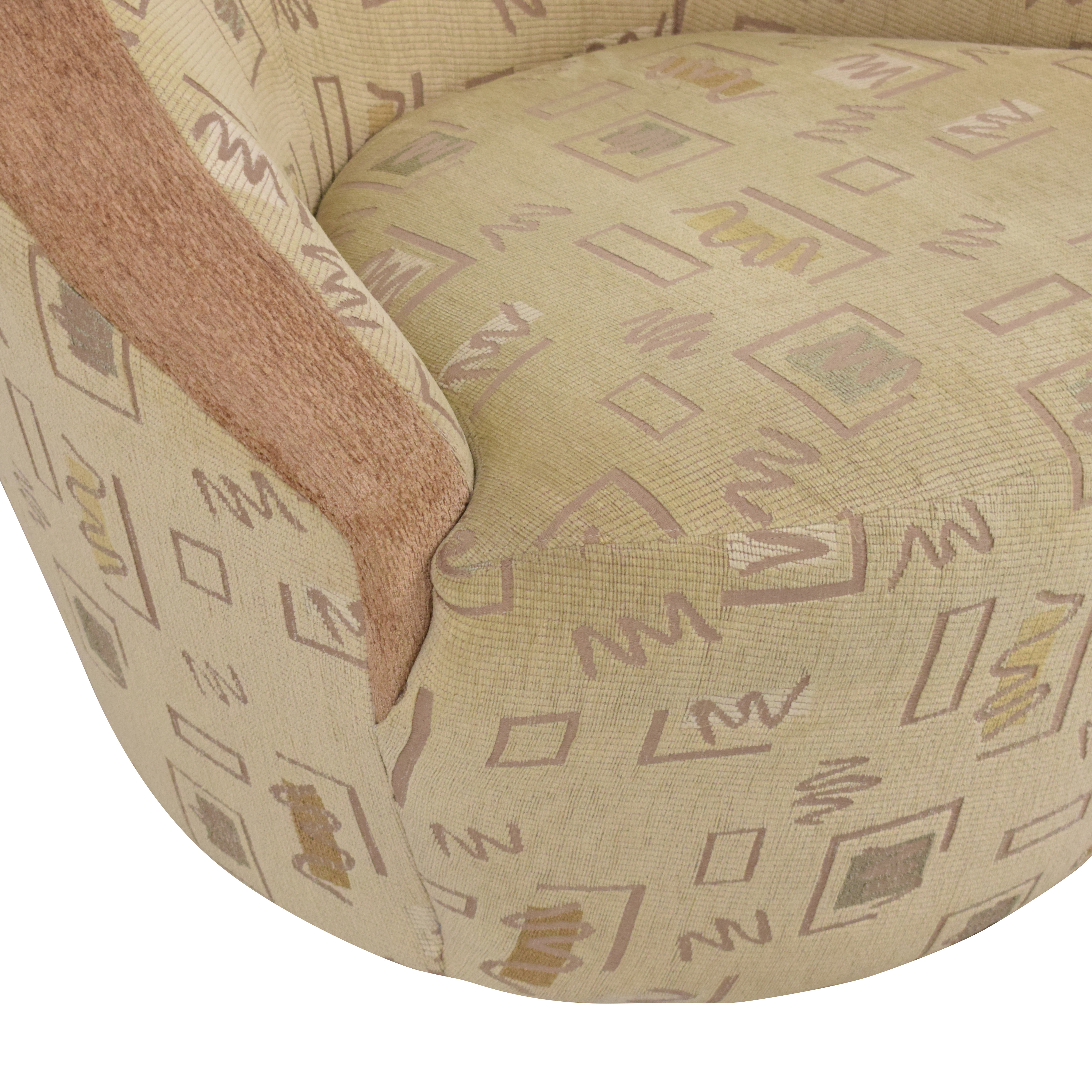 Directional Furniture Directional Furniture Swivel Lounge Chair second hand