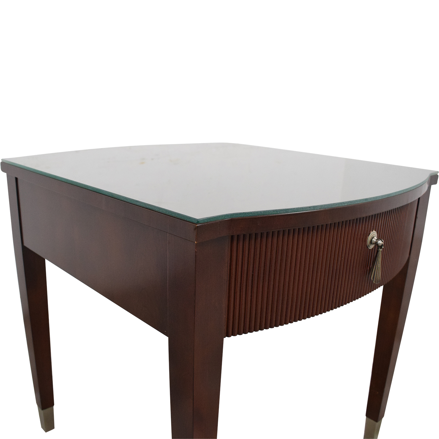Ethan Allen Ethan Allen Avenue Side Table with Drawer nj