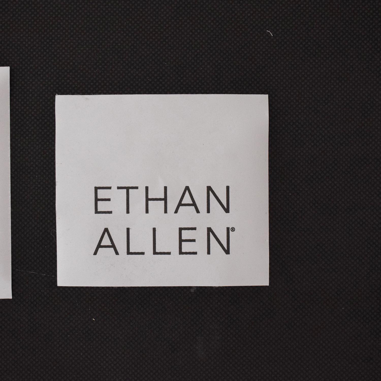 Ethan Allen Ethan Allen Matteo Bunching Ottoman ct