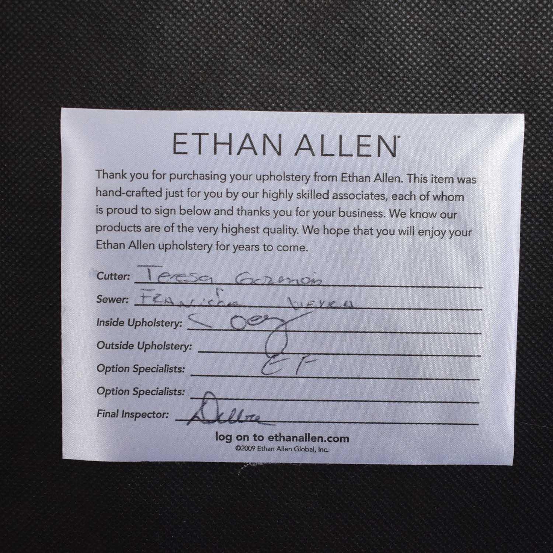 shop Ethan Allen Ethan Allen Matteo Bunching Ottoman online